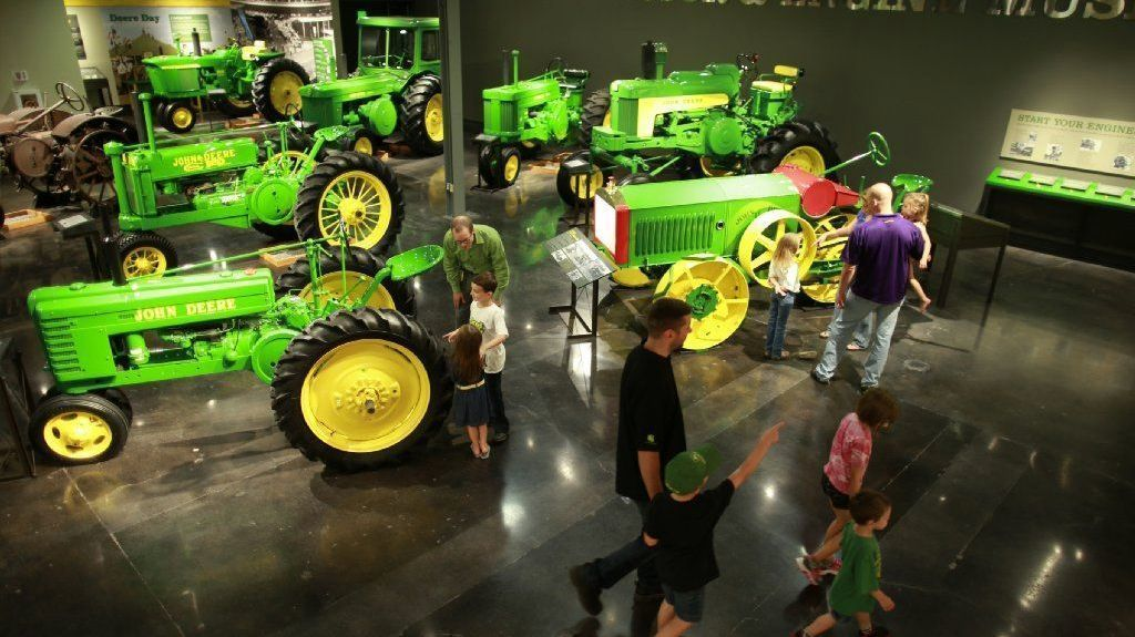 Exploring John Deere S History At The Farming Giant S Midwest Sites