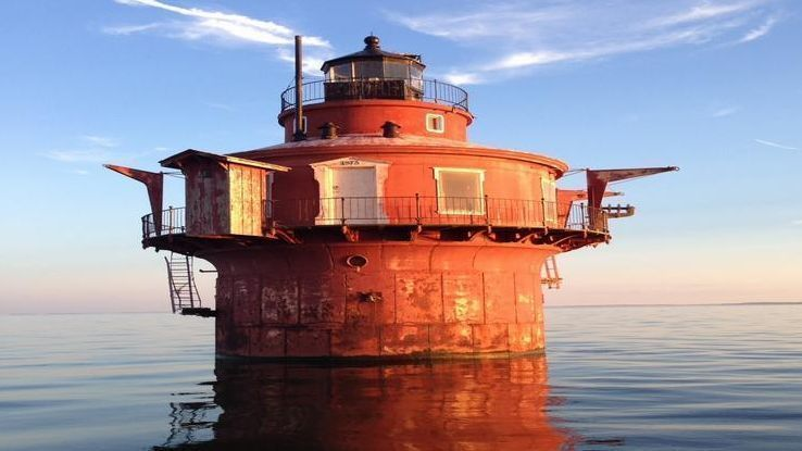 For 15k You Can Buy A Lighthouse In The Chesapeake Bay
