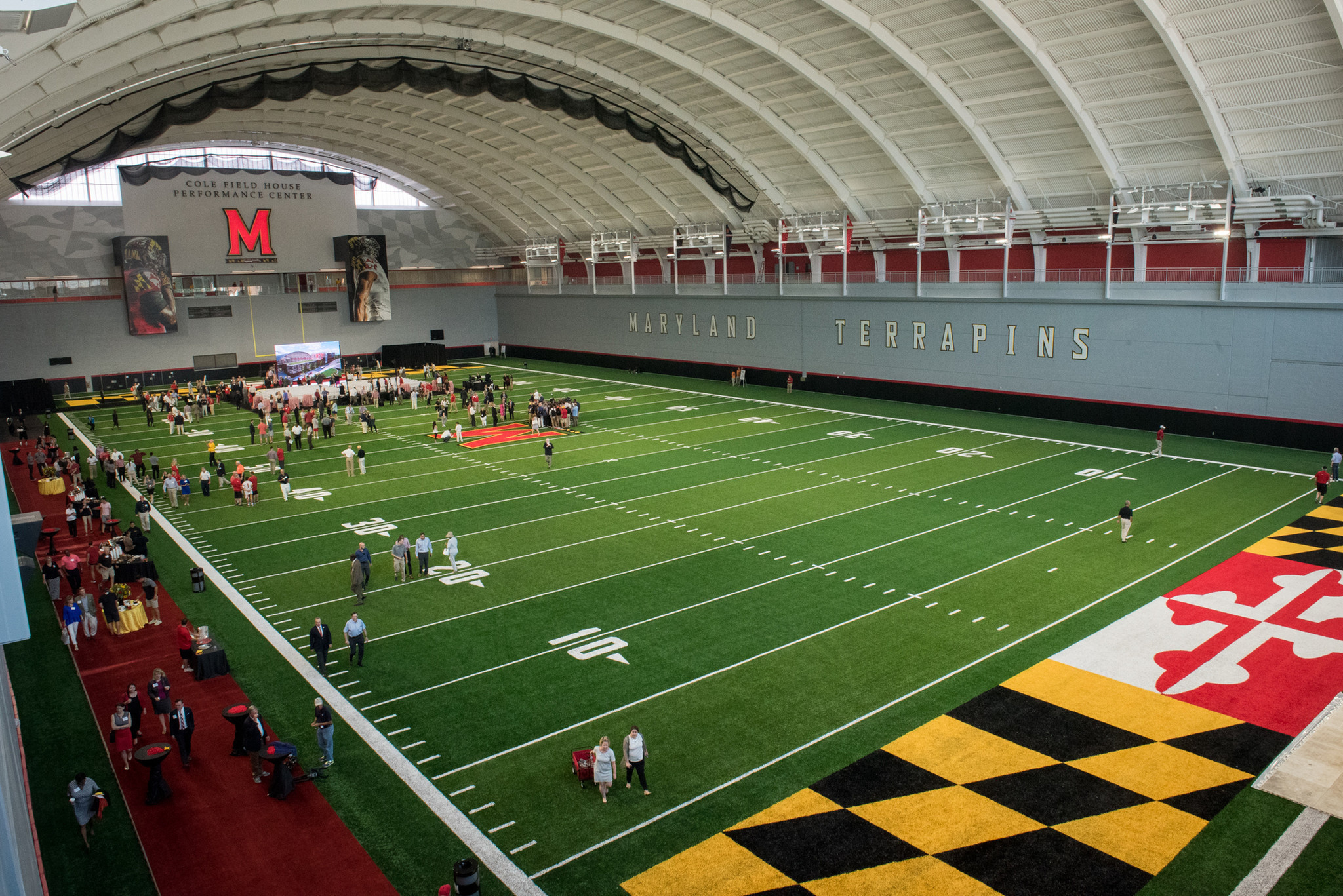 Maryland Officially Opens New Cole Field House Indoor