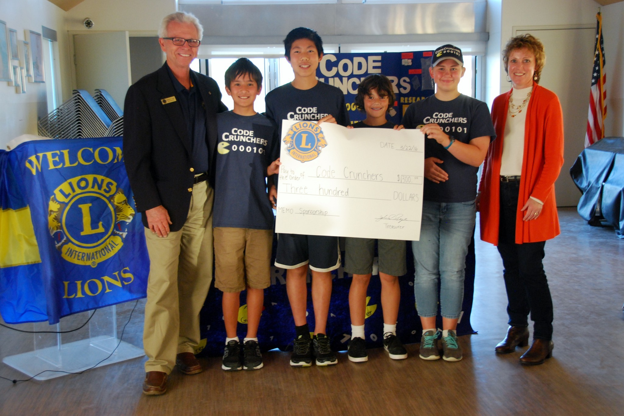 The Del Sol Lions Club helps support organizations such as The Code Breakers, a Solana Beach-based robotics team.