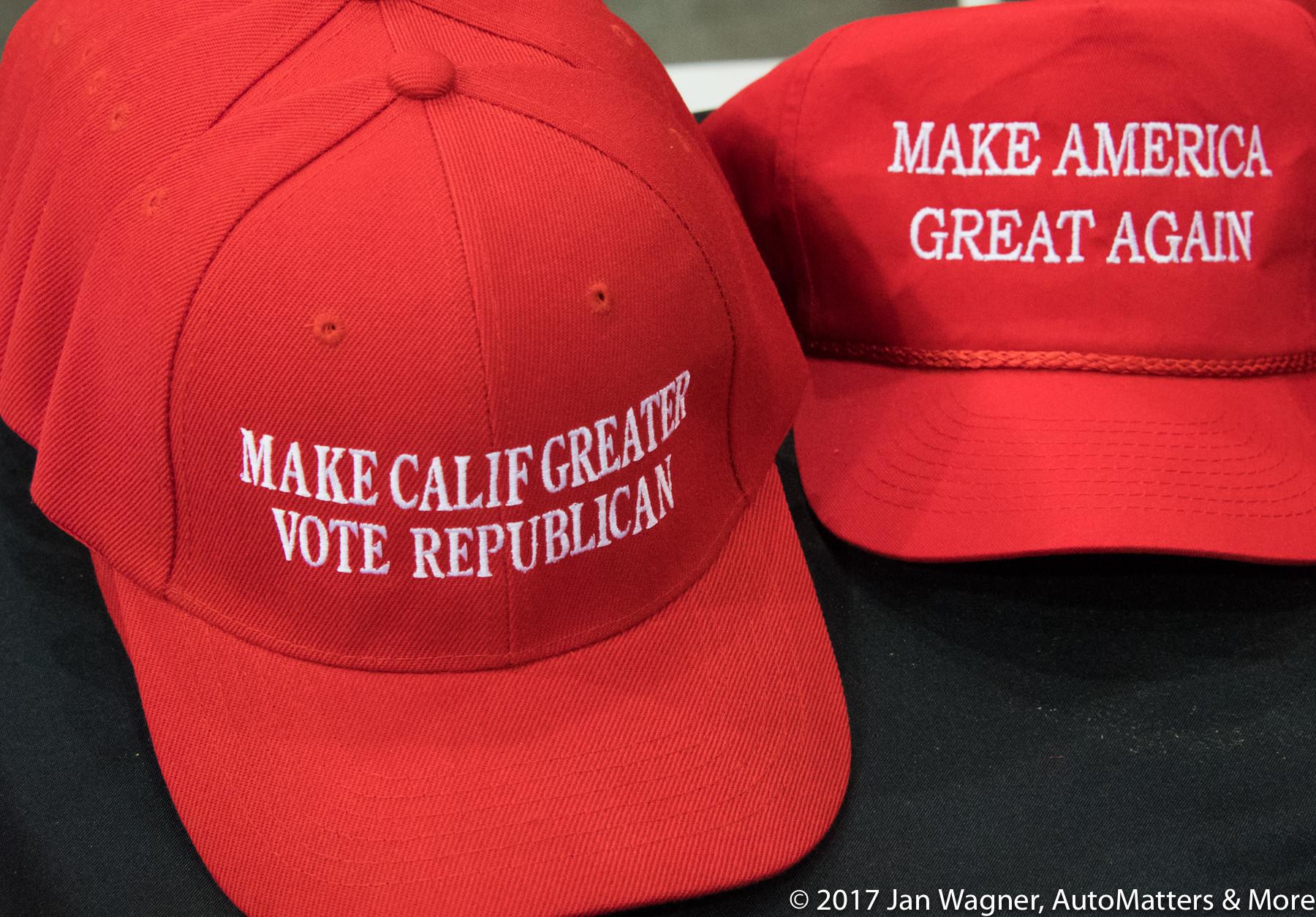 Iconic political souvenirs.