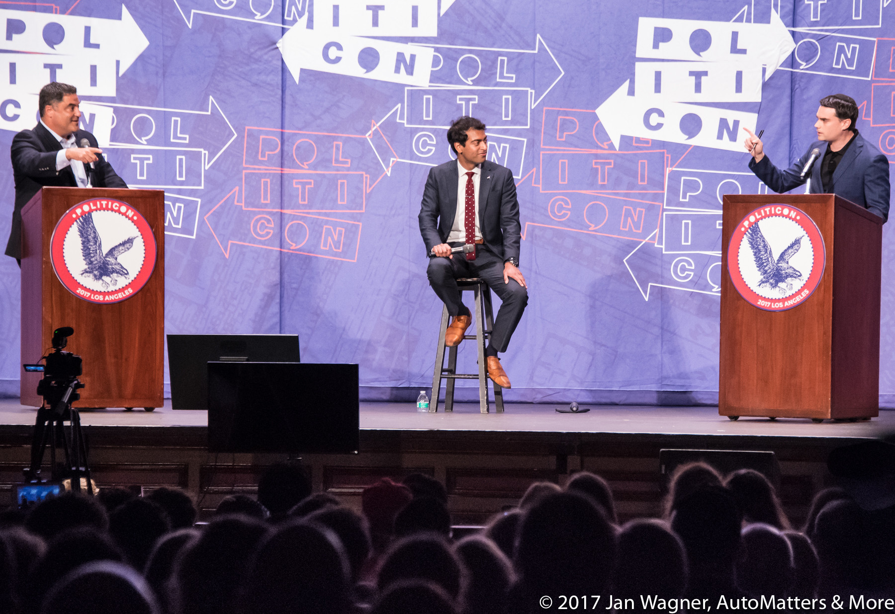 Heated debate between progessive Cenk Uygur, founder of the Young Turks, and conservative Ben Shapiro.