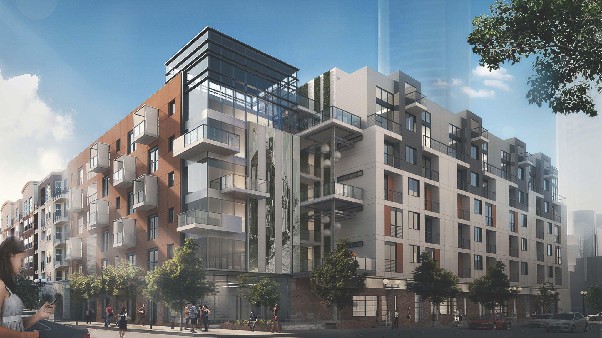 6 story apartment building replacing cost plus store the san diego union tribune - Apartment buildings san diego ...