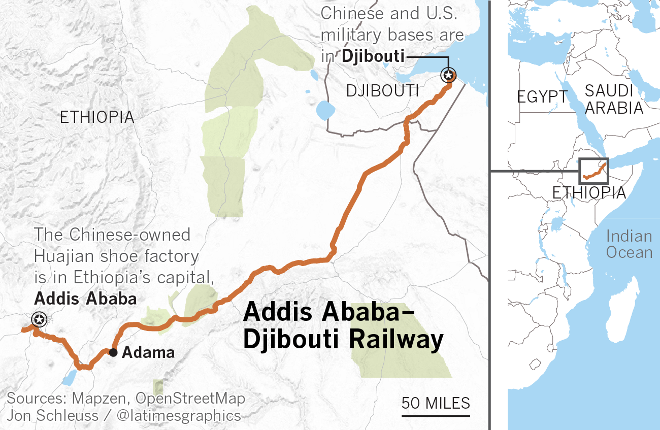 China says it built a railway in Africa out of altruism, but it's