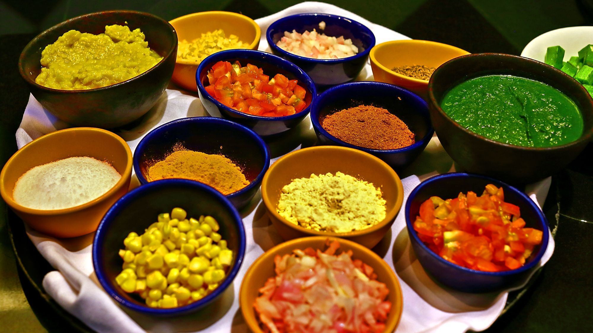 Ayurveda ingredients offer balance and different energies.