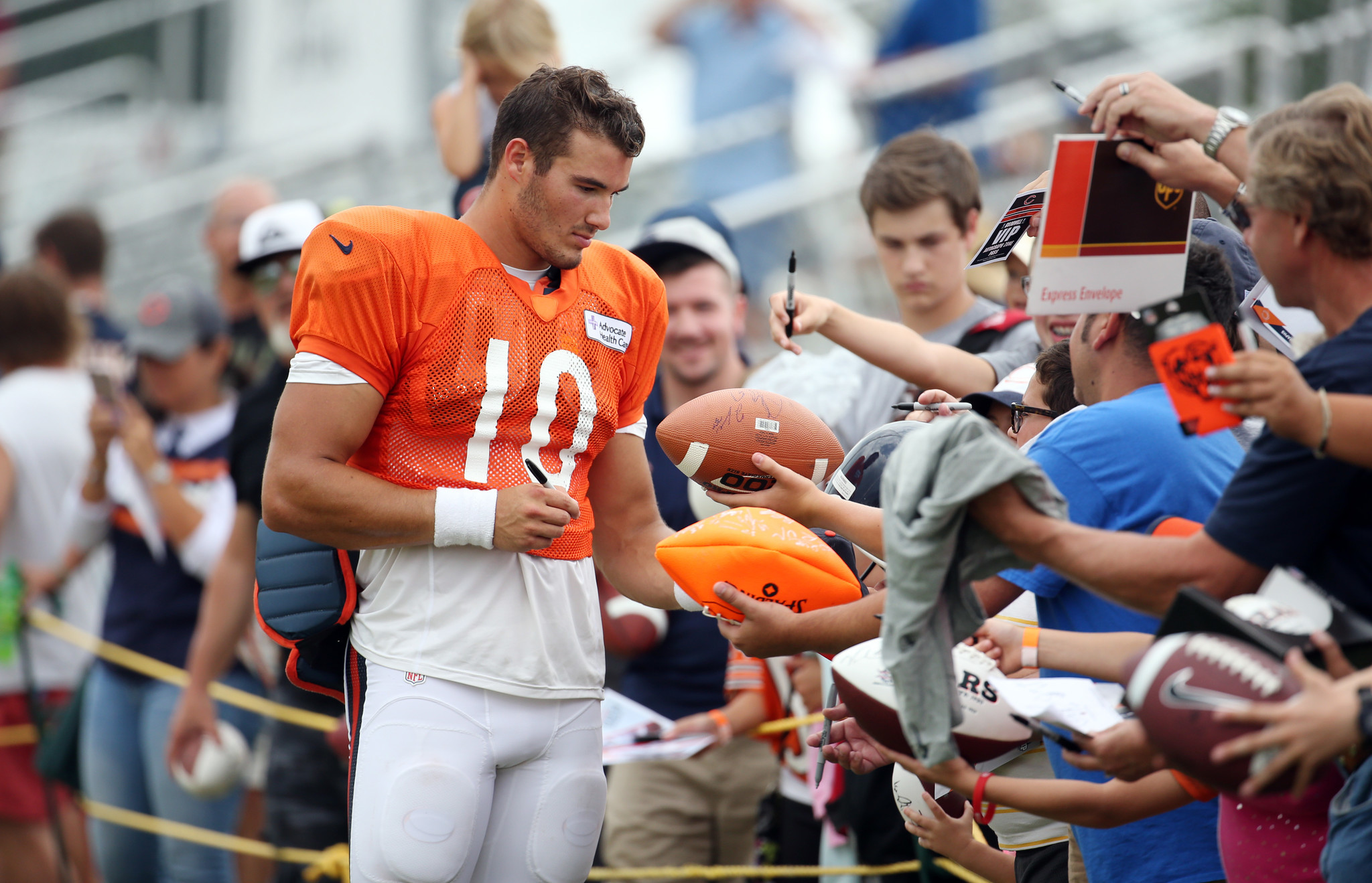 Mitch Trubisky and Bears' plans for rookie QB - Chicago ...