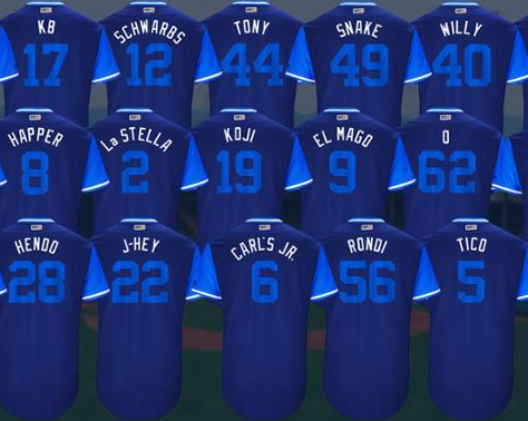 ffc68c0cf MLB s  Players Weekend  to feature nicknames on jerseys - Chicago Tribune
