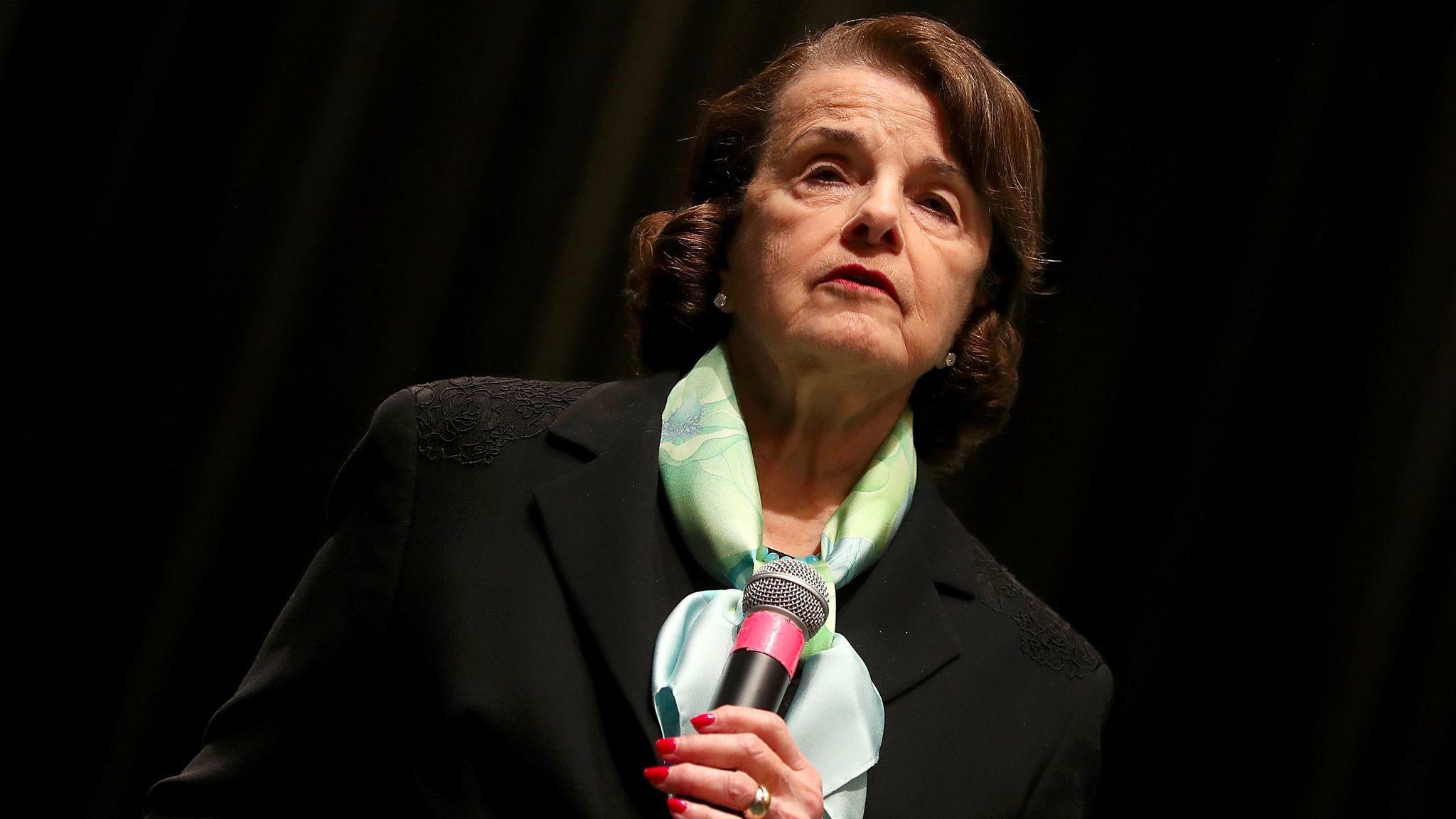 U.S. Sen. Dianne Feinstein (D-Calif.)