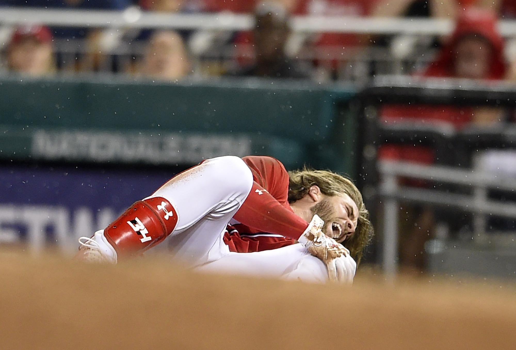 Bryce Harper has bone bruise, Nationals hopeful he's back this season - Chicago Tribune