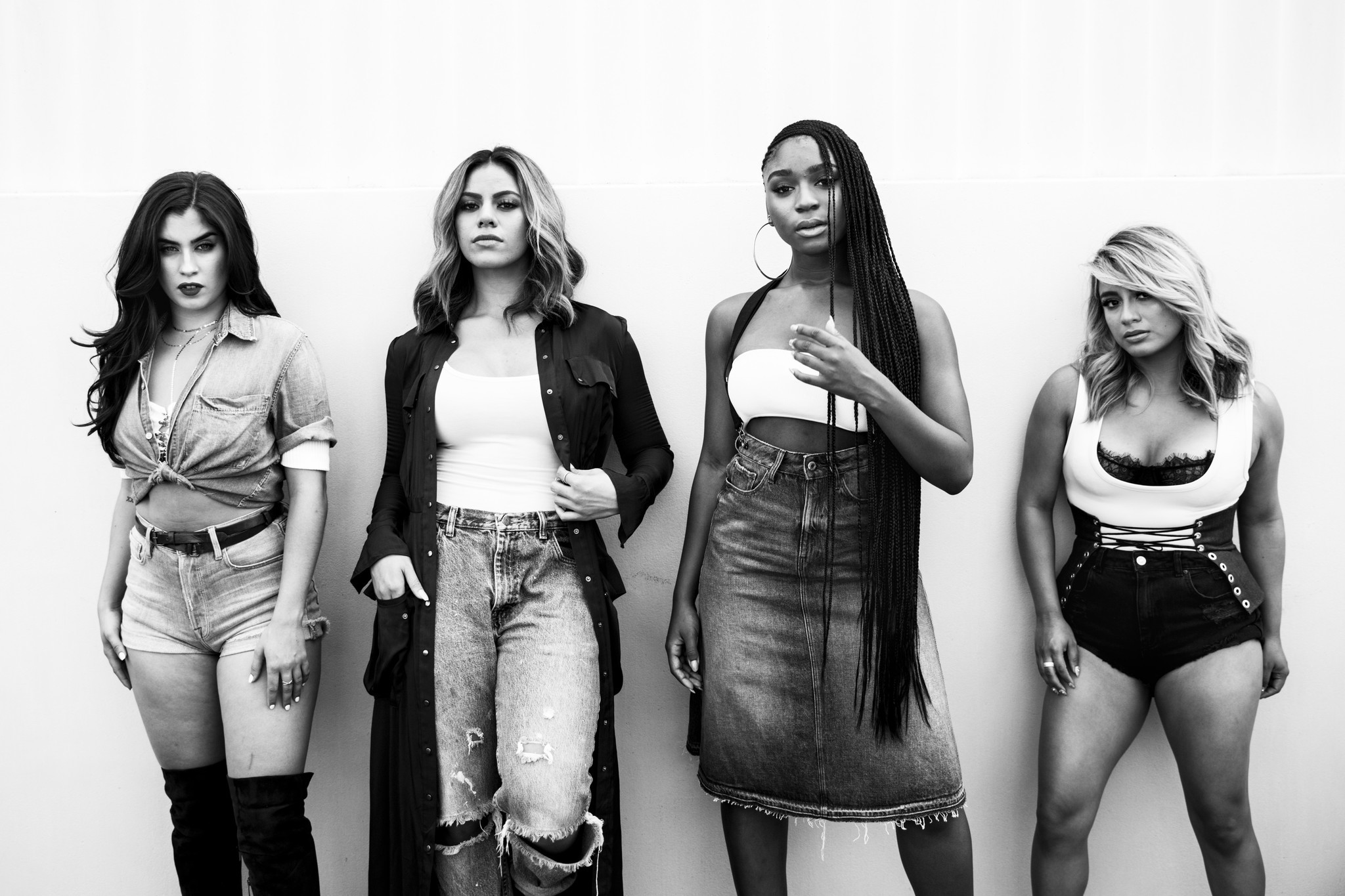 Fifth Harmony: Lauren Jauregui, left, Dinah Jane, Normani Kordei and Ally Brooke.