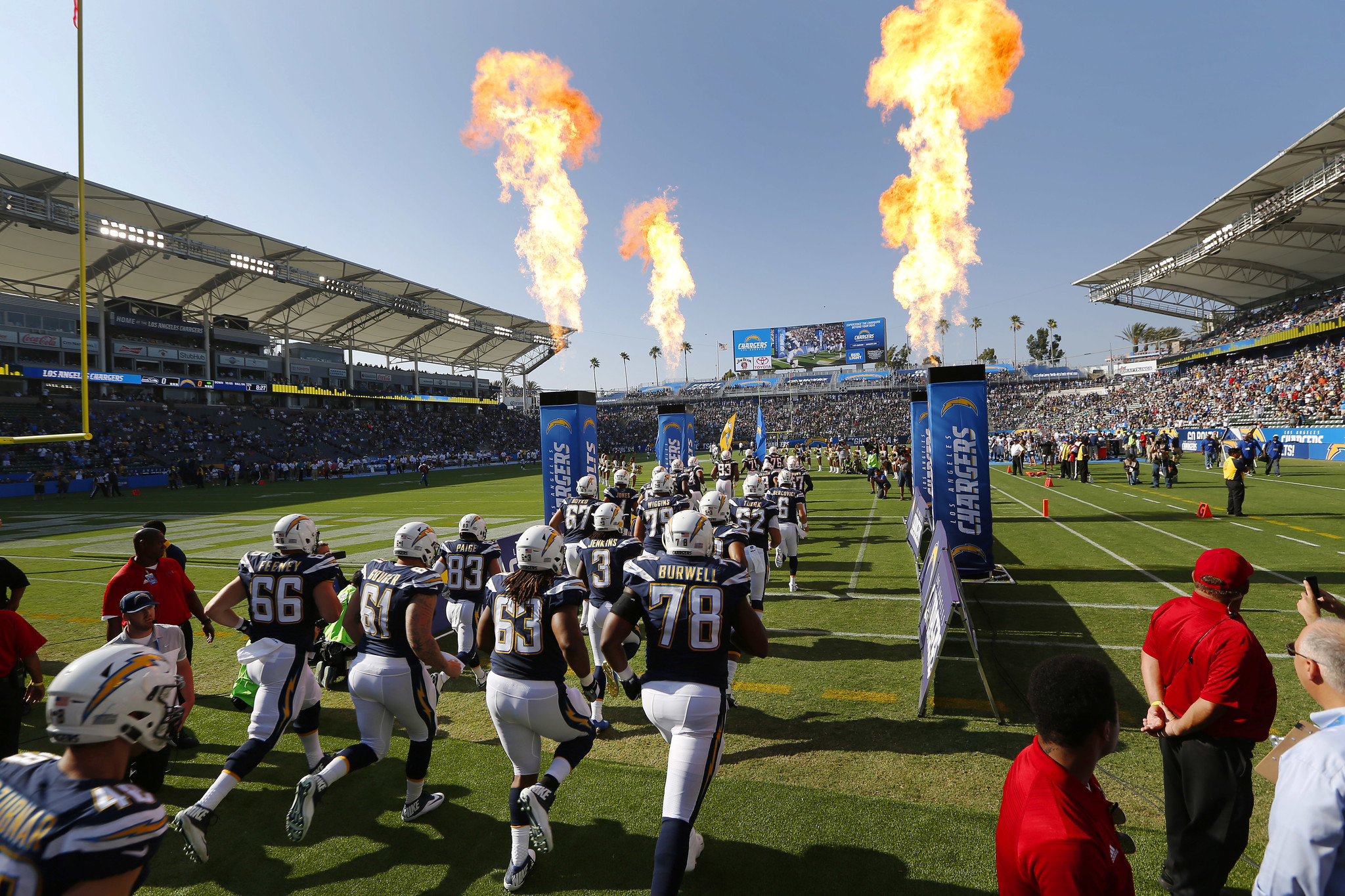 Los Angeles Chargers Vs Seattle Seahawks The San Diego
