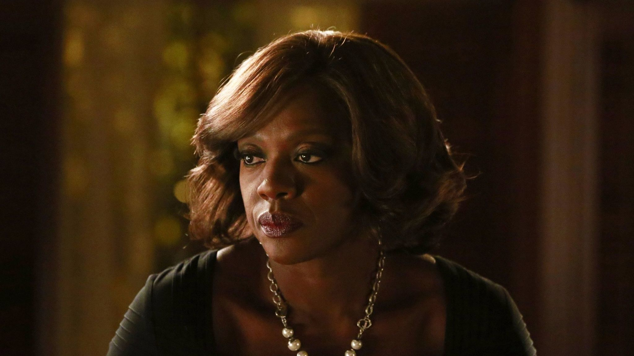 "Viola Davis in a scene from ""How to Get Away With Murder."""