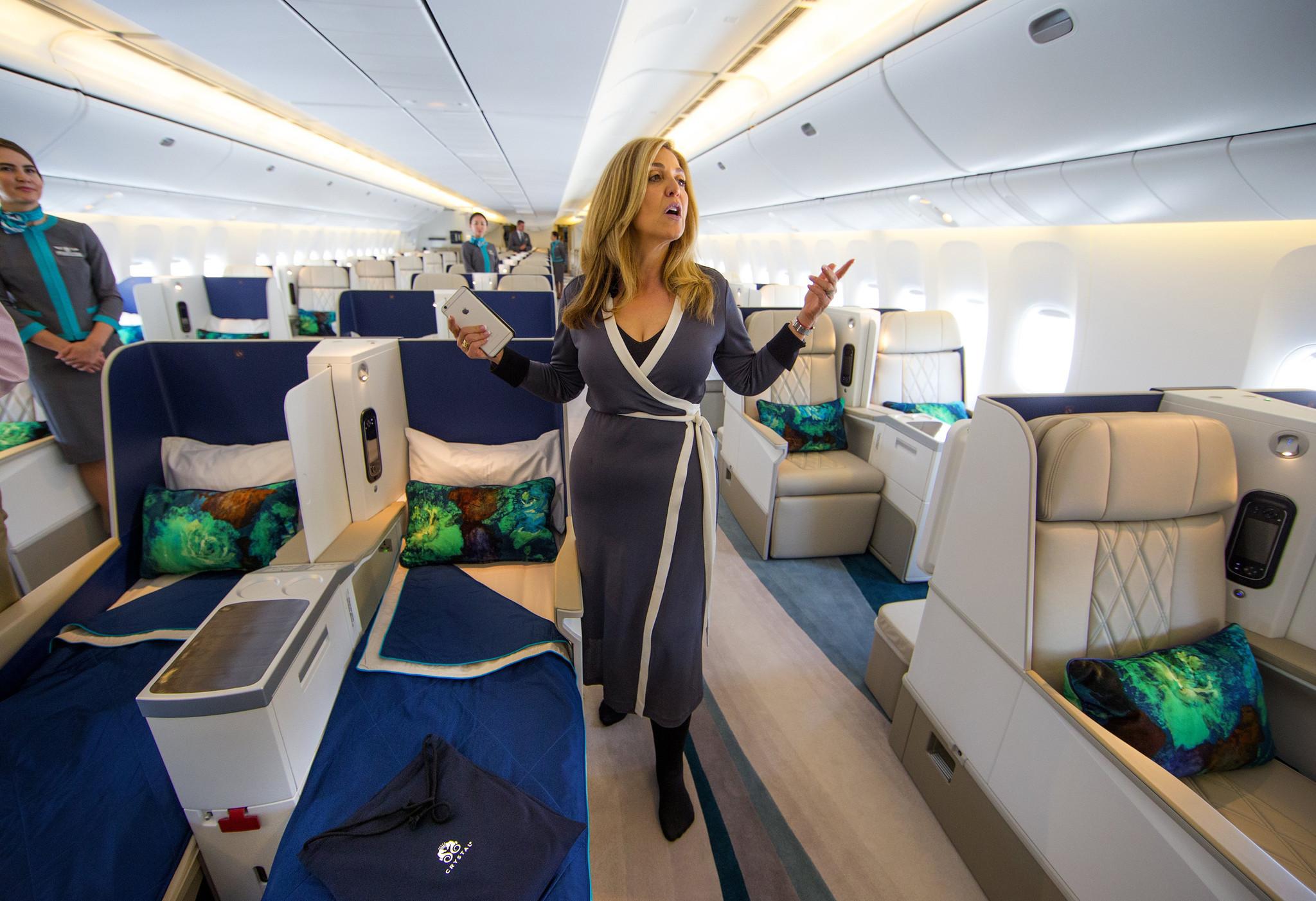 Plenty Of Legroom On Boeing S Luxury Jet Tailored For The