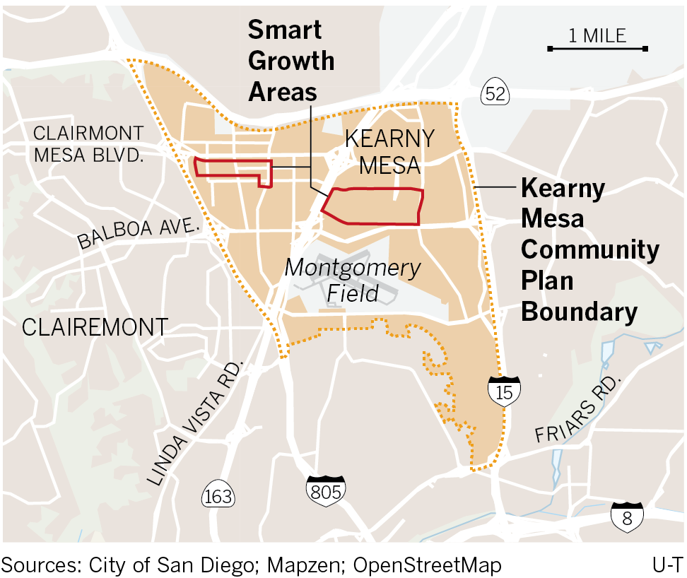 Kearny Mesa's Future Likely To Include More Housing, Dense