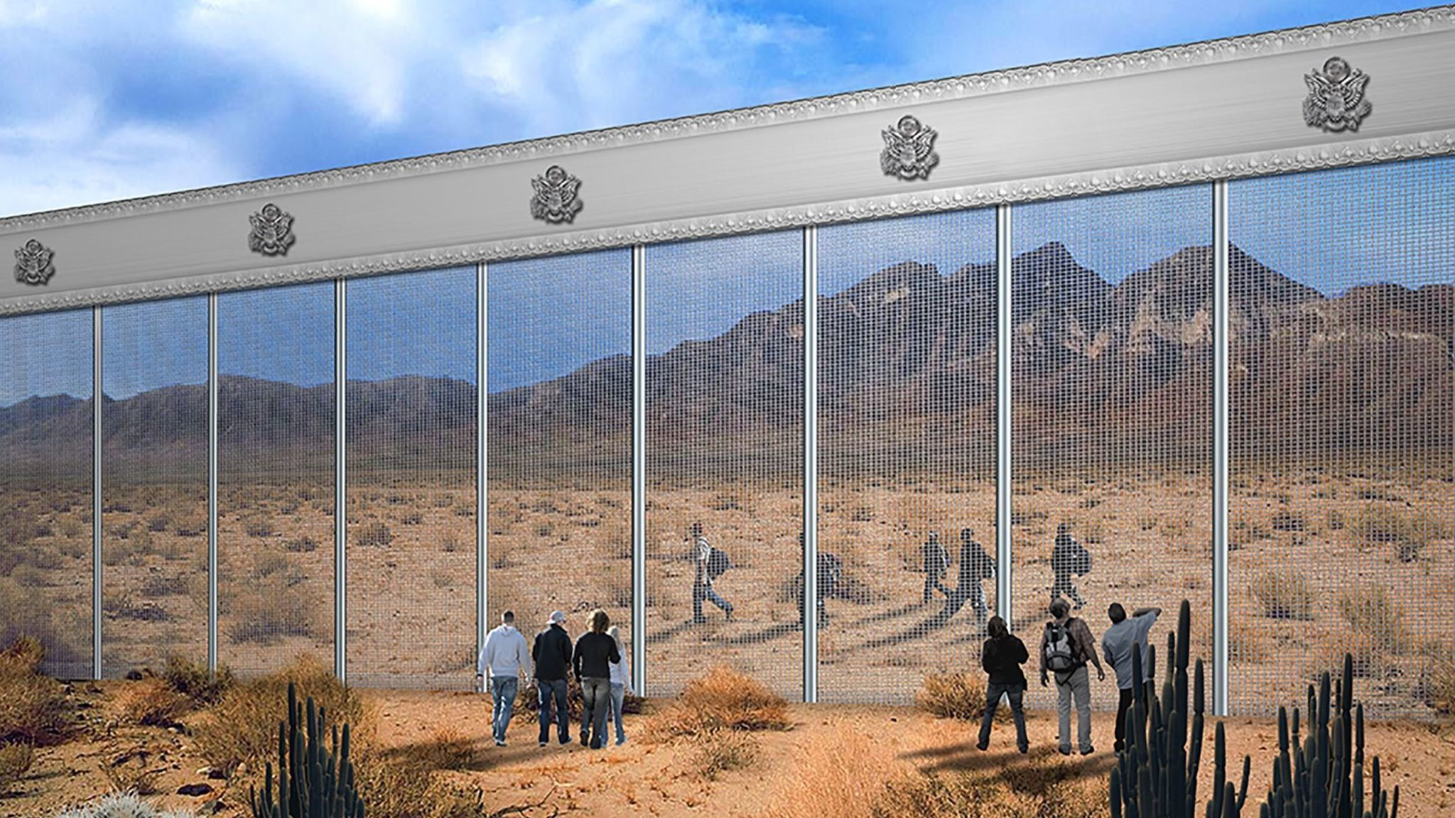 Bid Protest Puts Border Wall On Hold For Months The San