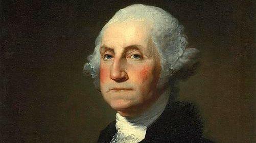 Gilbert Stuart's portrait of George Washington.