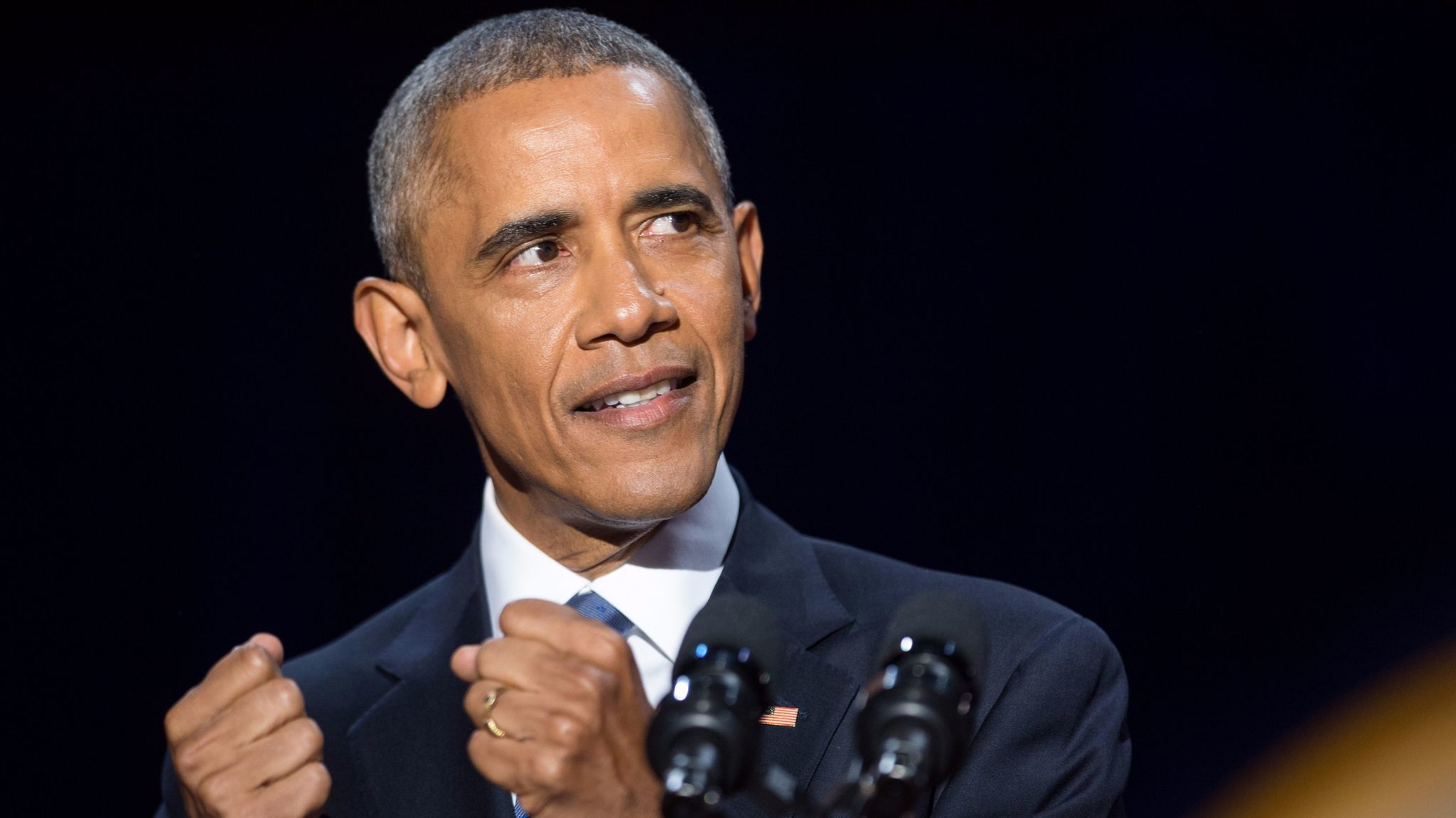 President Obama in his farewell address urged listeners unhappy with their representatives to
