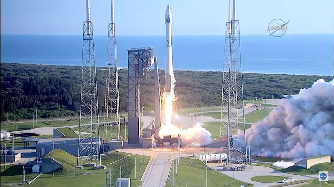 Pictures: Atlas V launch from Cape Canaveral - Orlando ...