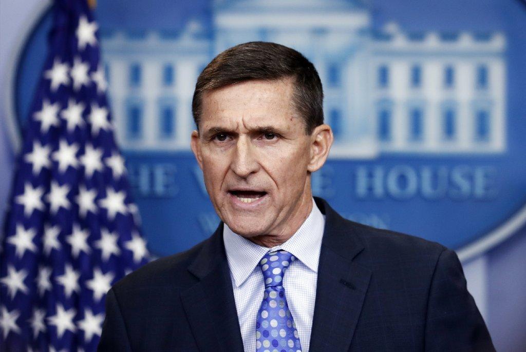 Former National Security Adviser Michael Flynn on Feb. 1, 2017.