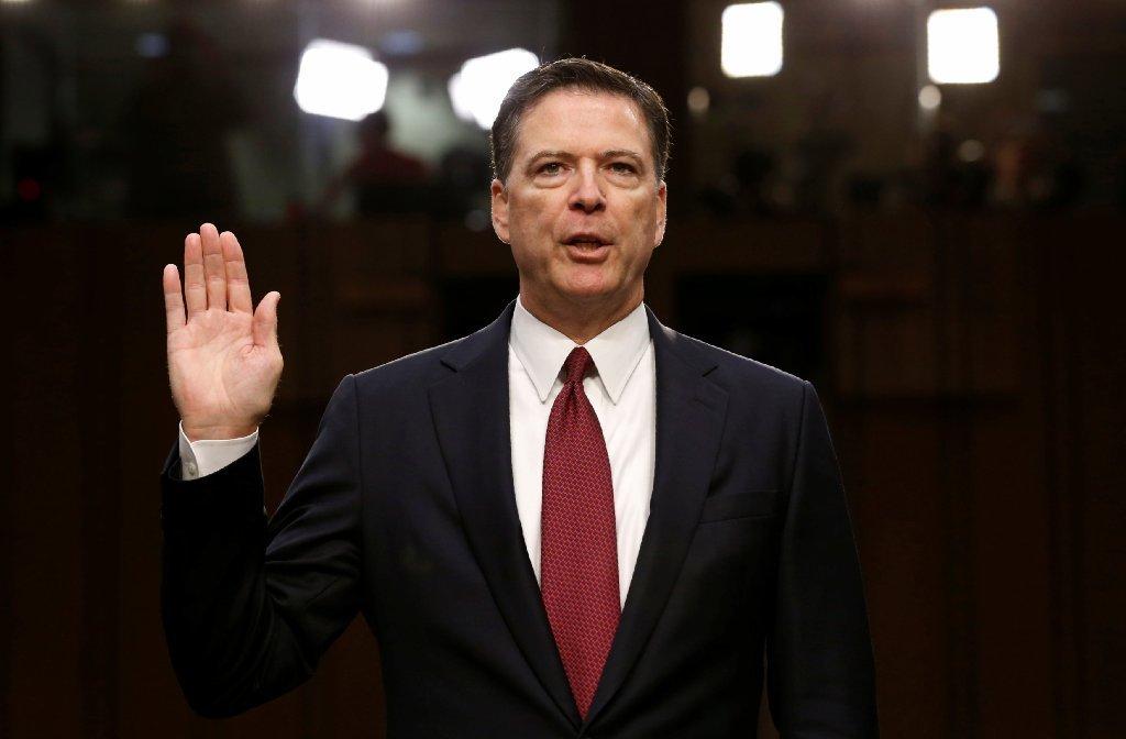 Former FBI Director James Comey on June 8, 2017.