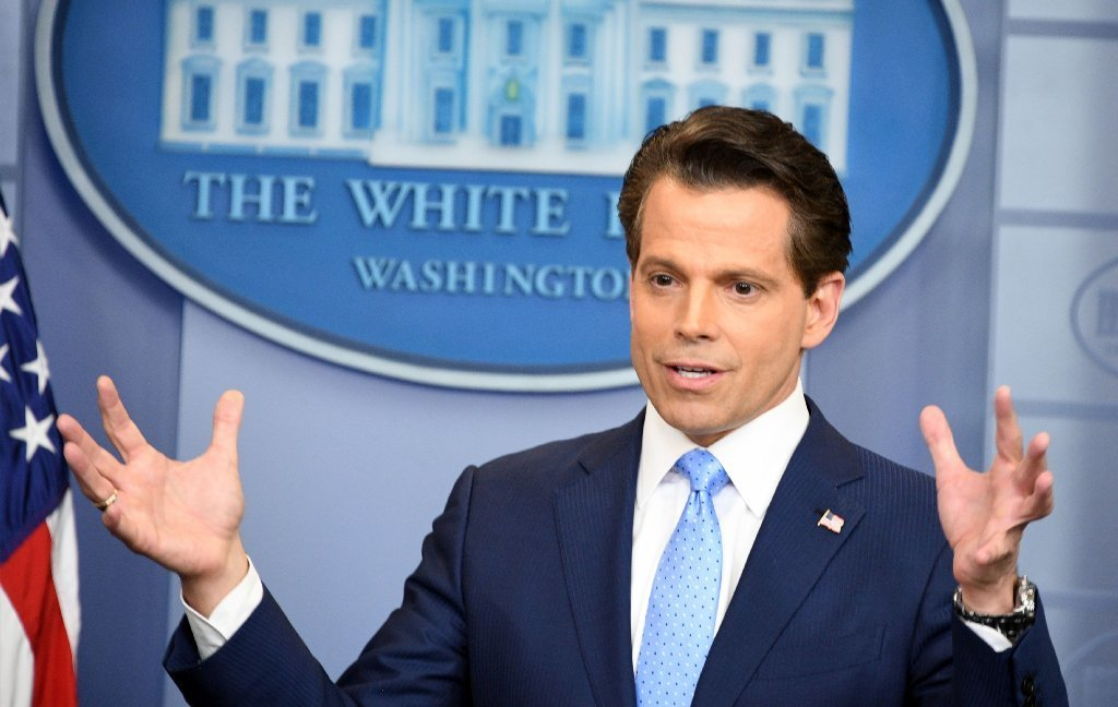 Former White House Communications Director Anthony Scaramucci on July 21, 2017.