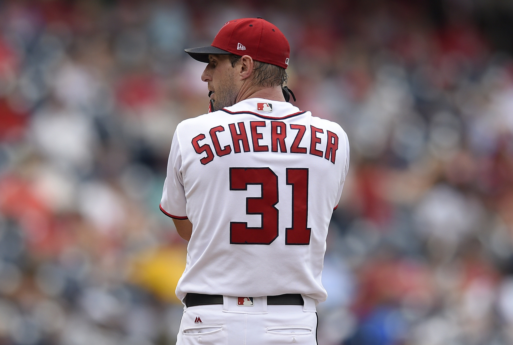Nationals ace Max Scherzer placed on DL with neck ...