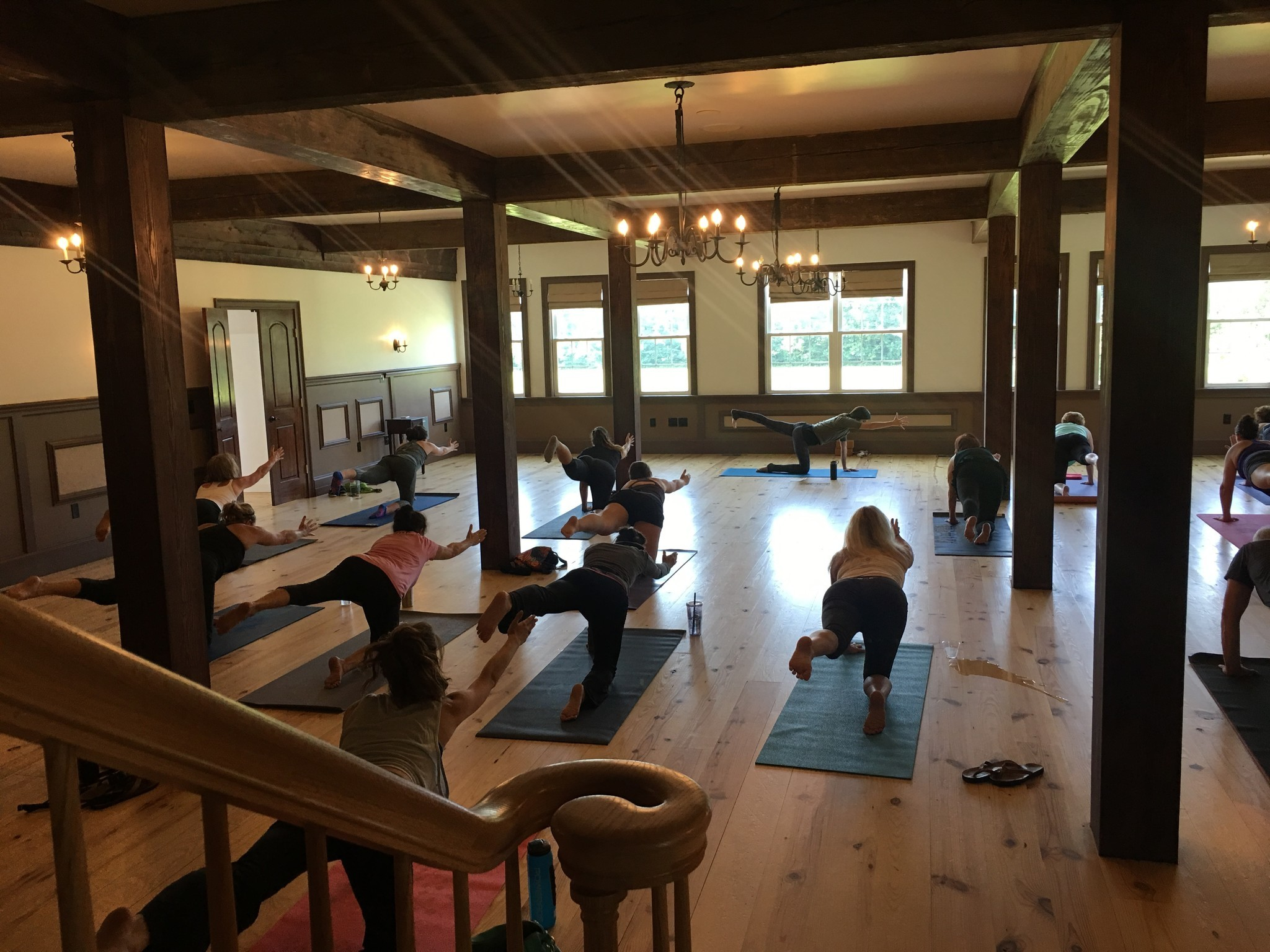 Wine And Yoga Provide A Fresh Mix For Williamsburg Winery The