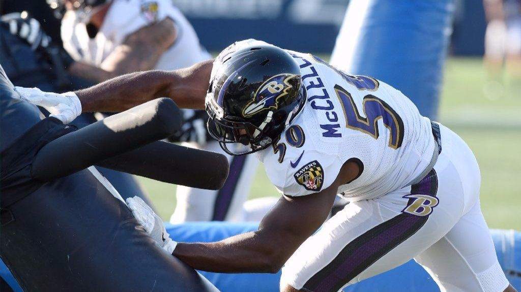'The Big Brother' Of The Ravens, Albert McClellan Proves His Worth On And Off Field