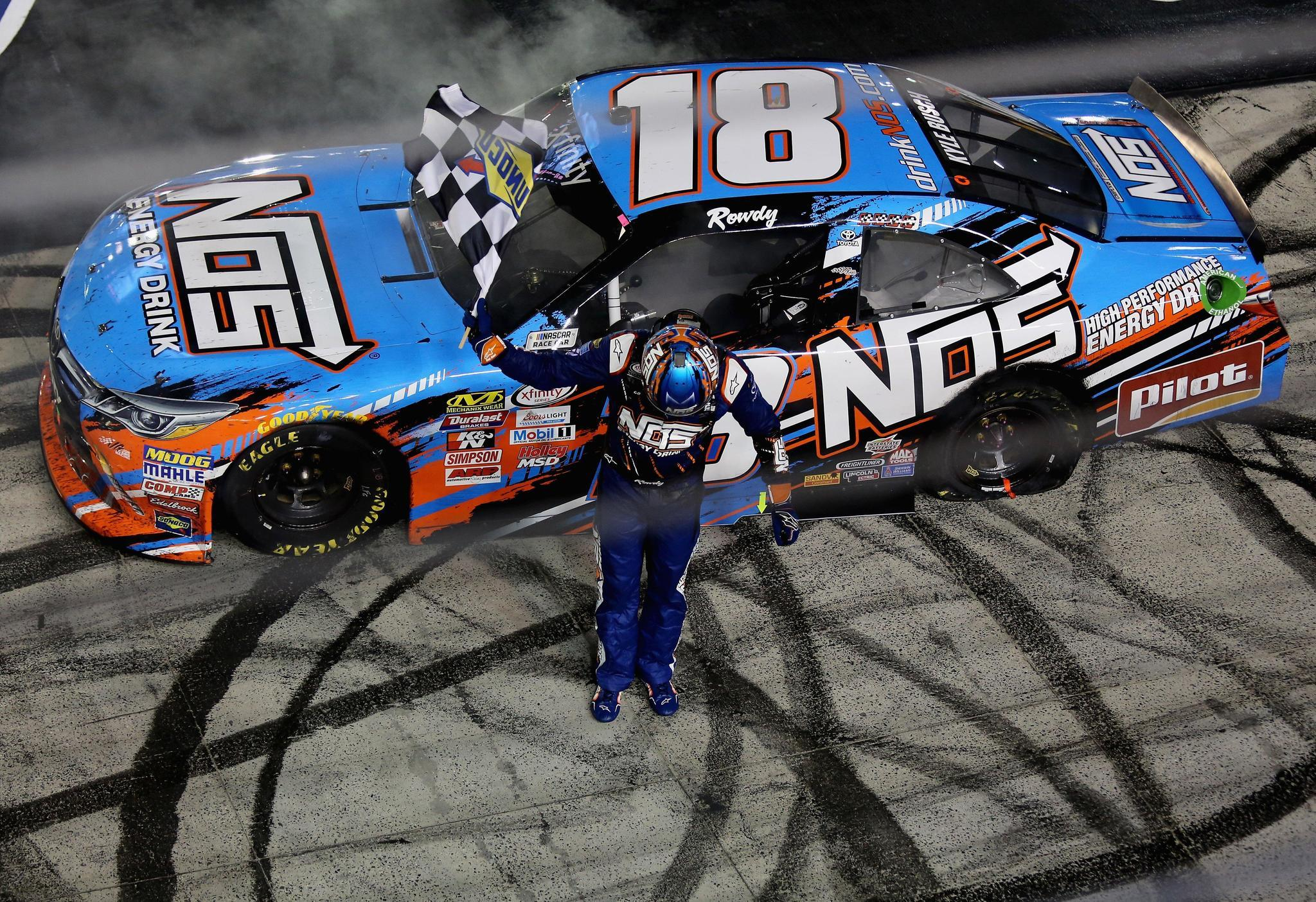 Kyle busch wins at bristol for 19th time in nascar the morning call - Pictures of kyle busch s car ...