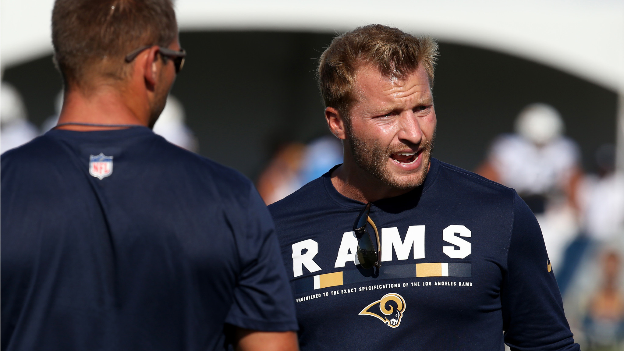 Rams Coach Sean Mcvay Takes Negative Comments From Mike
