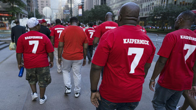 699c00918 Supporters want Colin Kaepernick signed by start of NFL season ...