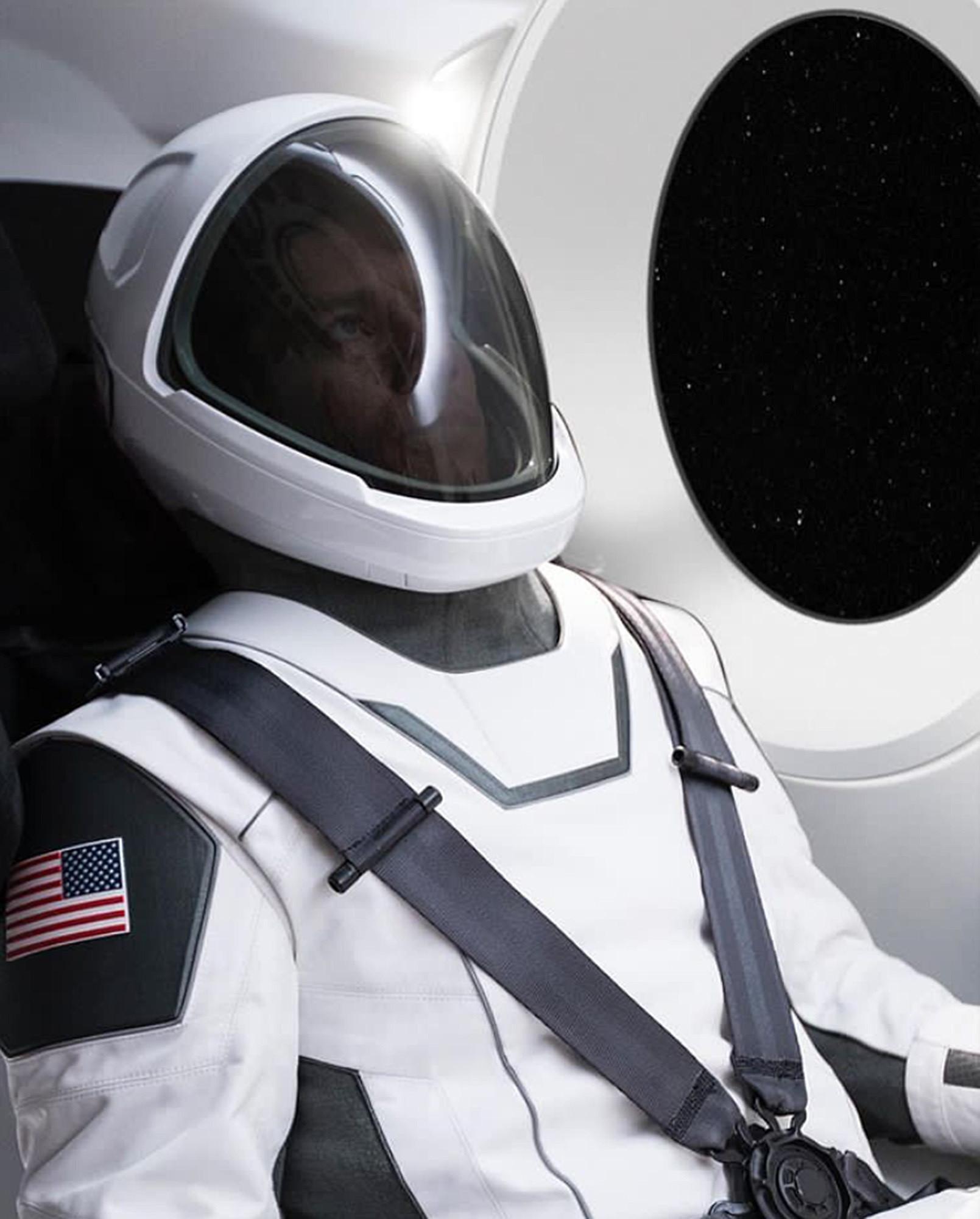 SpaceX Offers Sneak Peek Of New Spacesuit