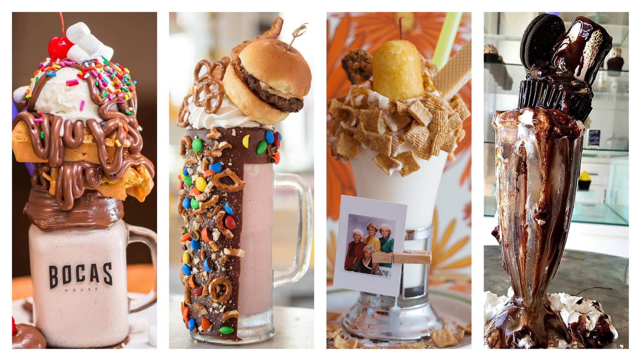 Sugar Rush South Floridas Craziest Milkshakes