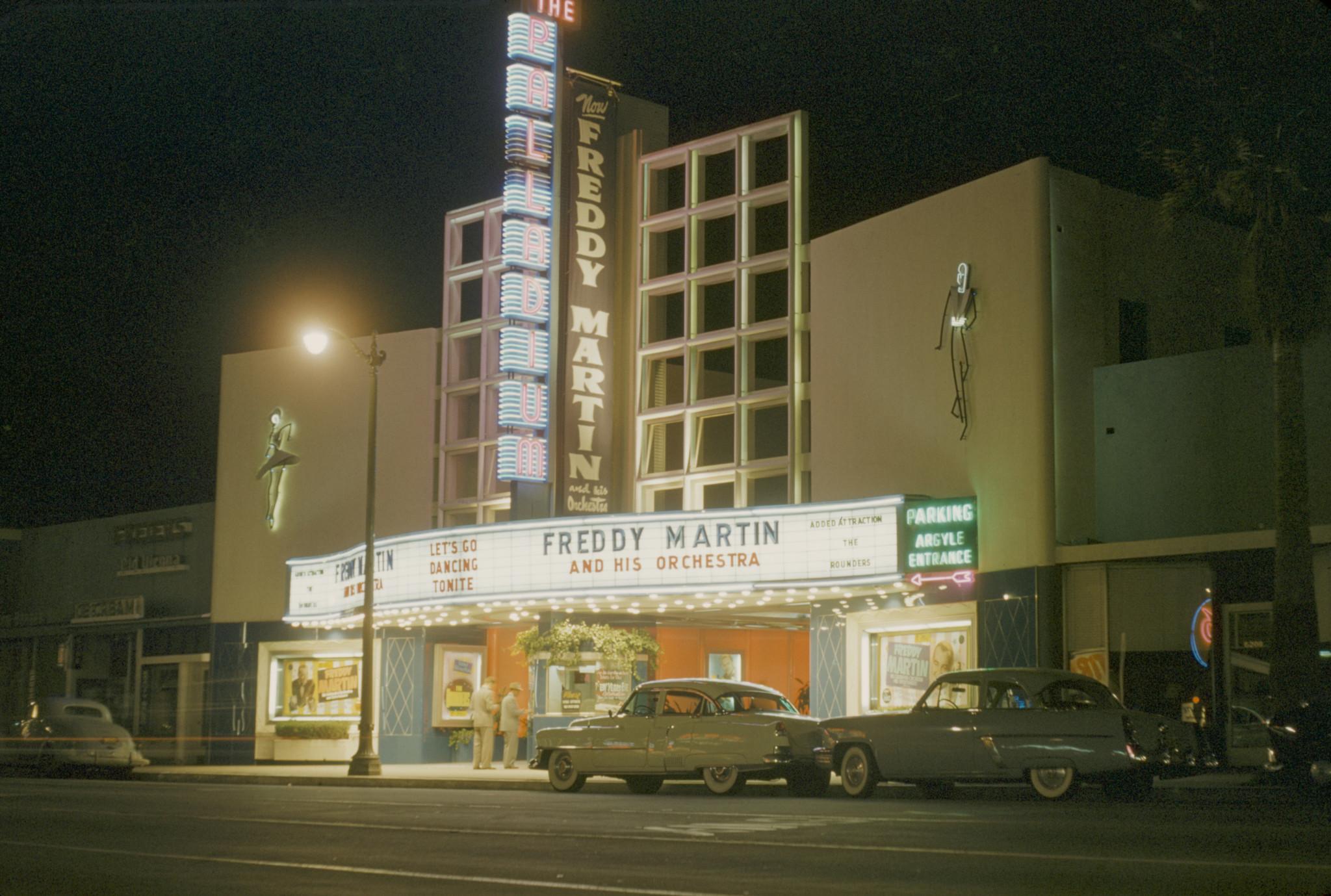 The Hollywood Palladium around 1950.