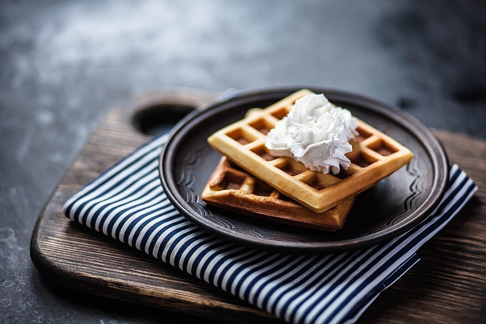 Buttermilk Waffle Cake Recipe