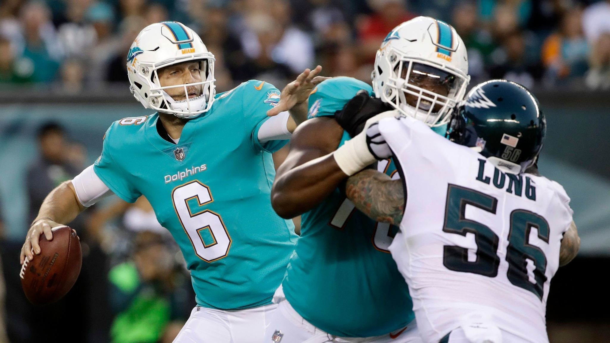 Jay Cutler Impresses But Dolphins Sloppy With The Ball Against Eagles