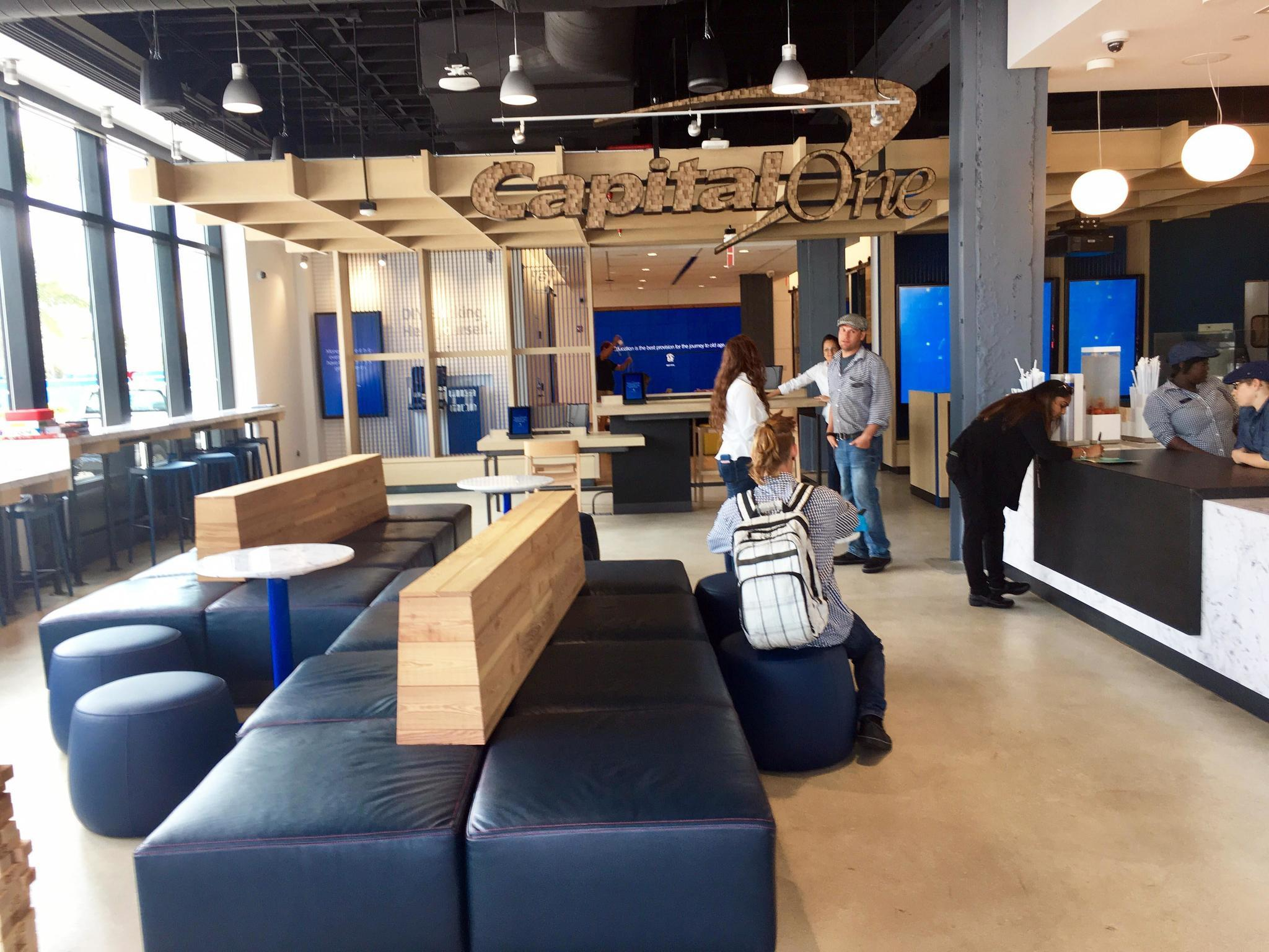 Capital One Cafe re-imagines banking in Delray - Sun Sentinel