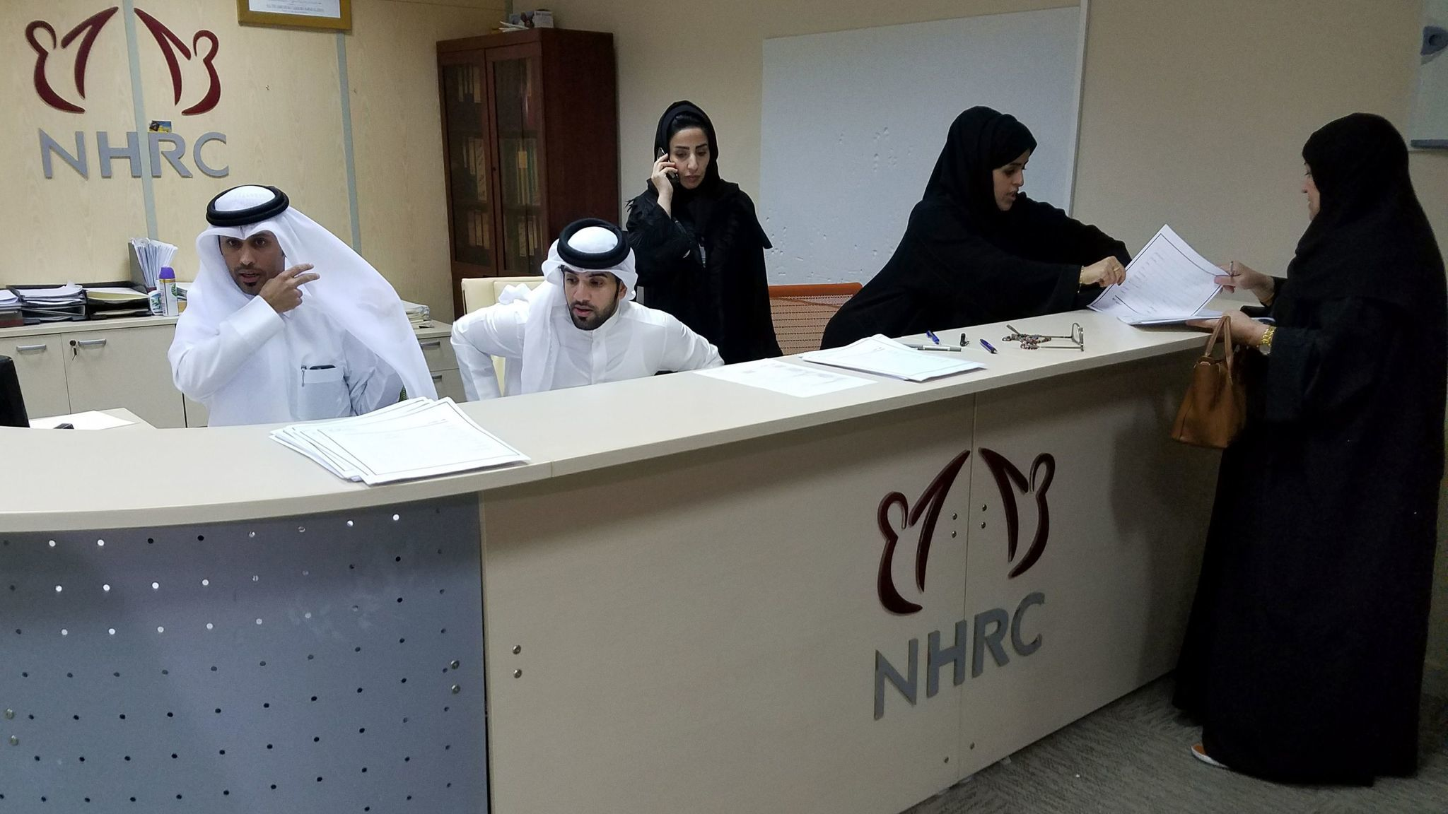 In June, Qatar's National Human Rights Committee reported that it had been receiving a hundred complaints a day since the blockade by four Arab nations started June 5.