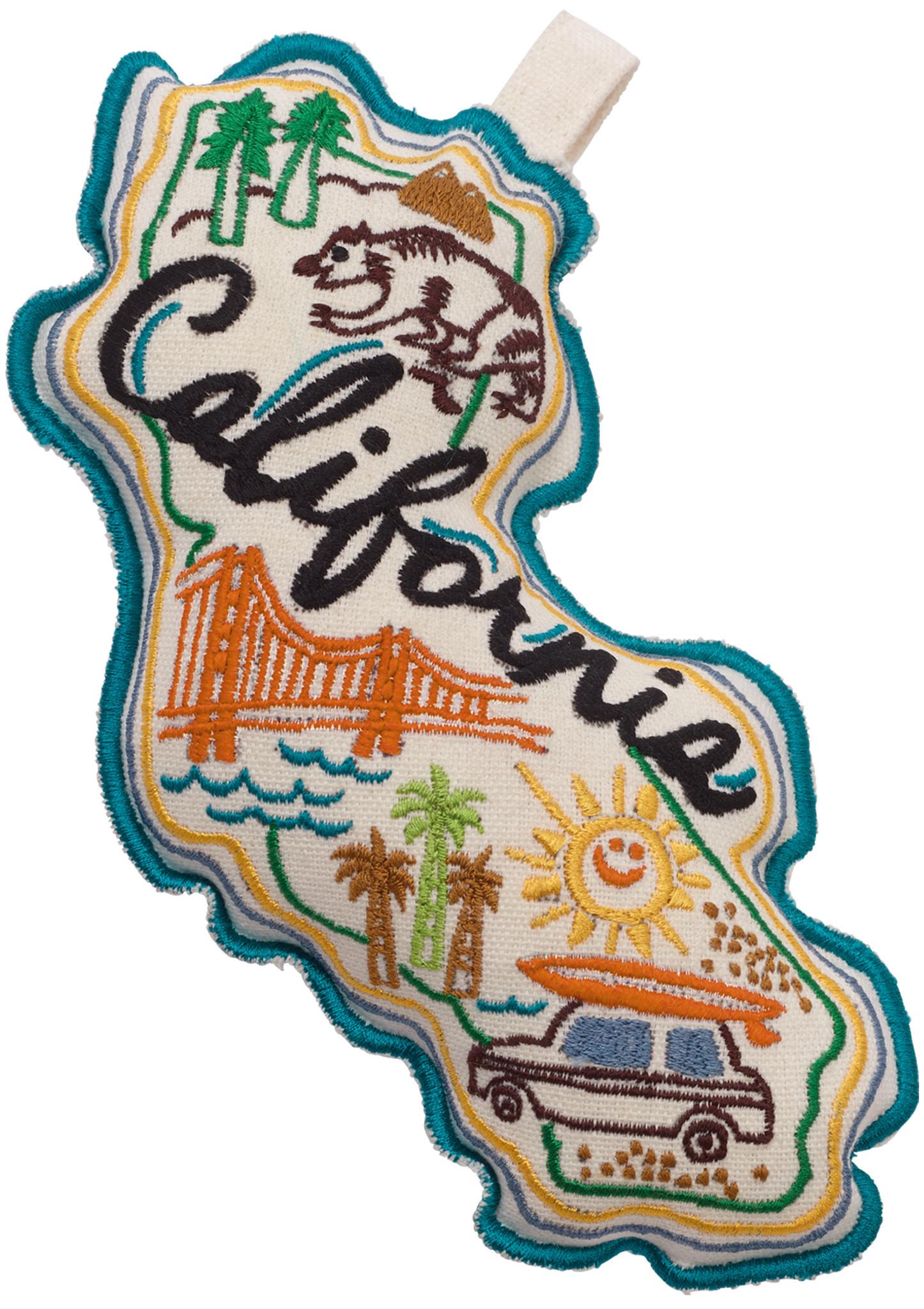 California postcard toy