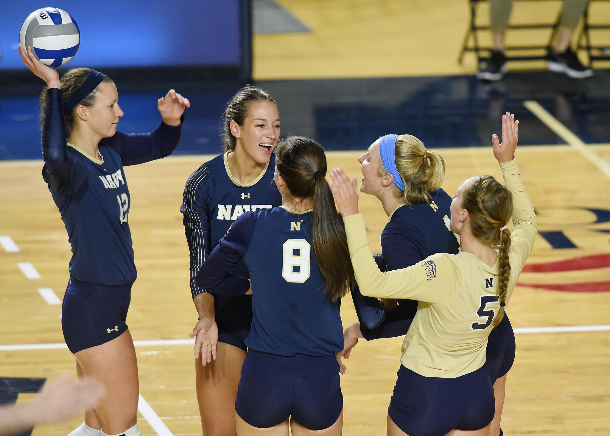Navy Women S Volleyball Capital Gazette
