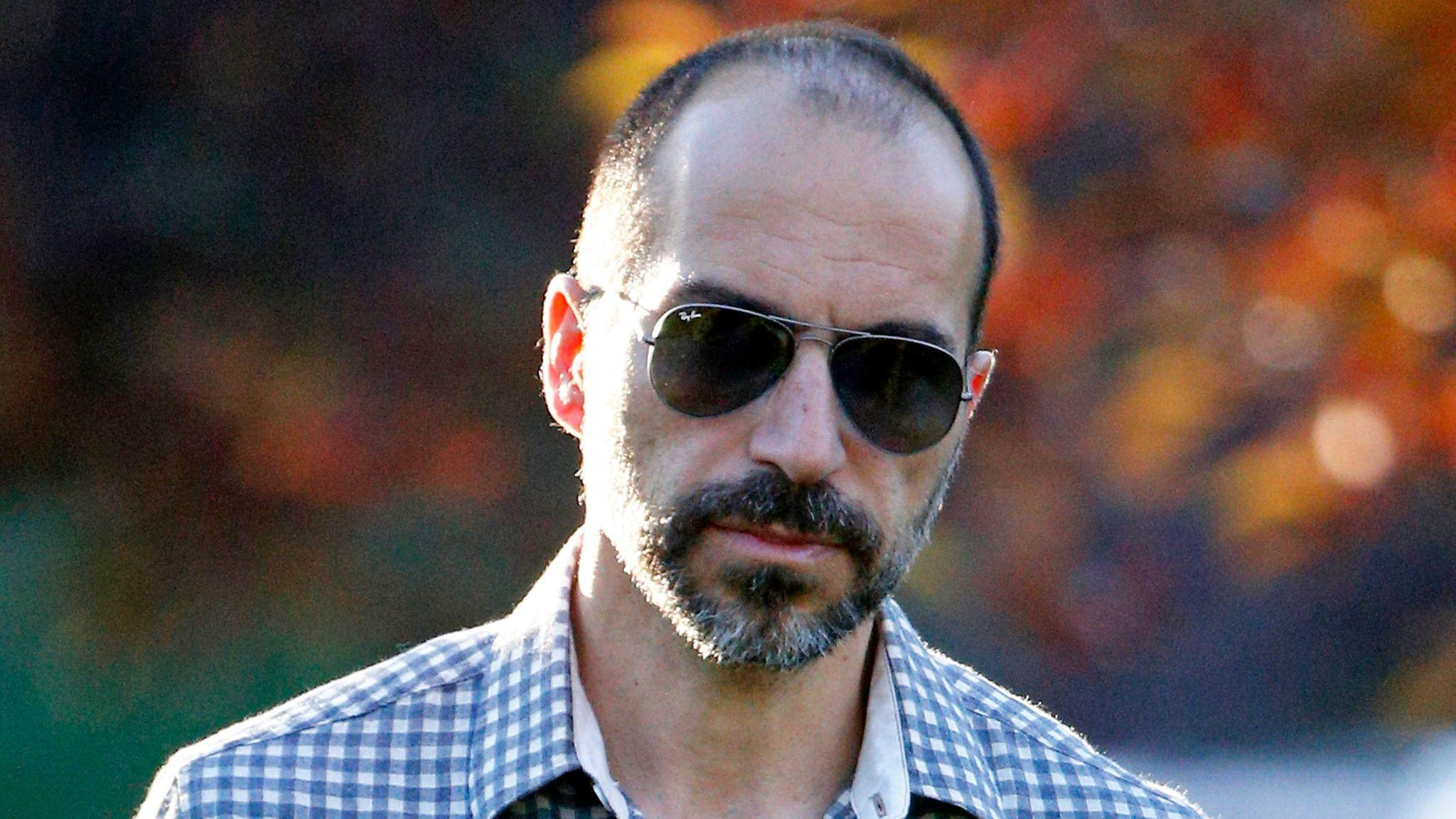 Dara Khosrowshahi, president and chief executive officer of Expedia, shown in 2014, has been chose to lead Uber.