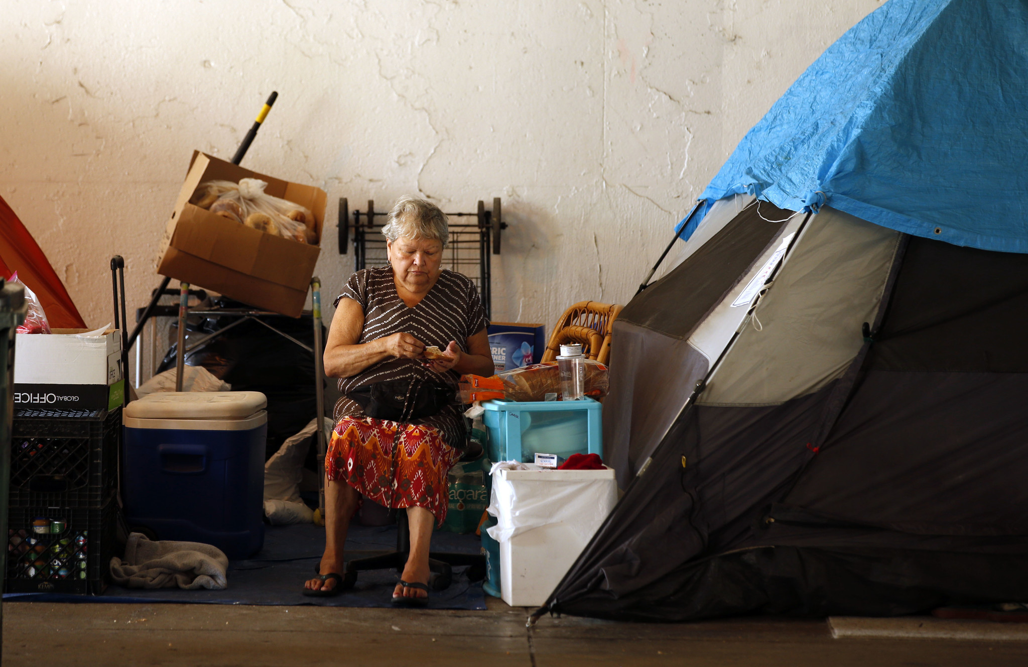buy popular b067b 6437e Homeless advocacy group seeks to stop eviction of Uptown tent city