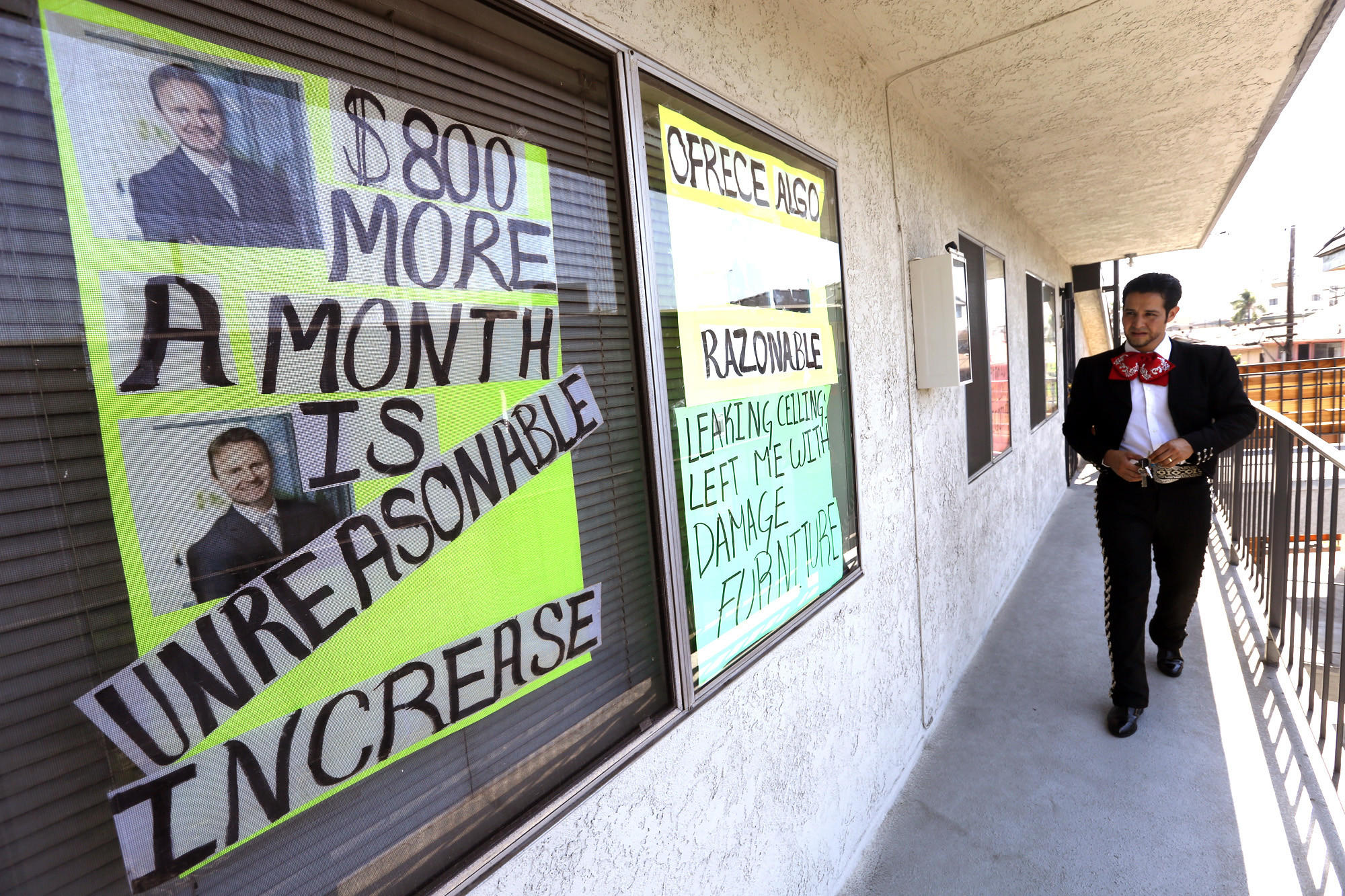 As rents soar in L A , even Boyle Heights' mariachis sing