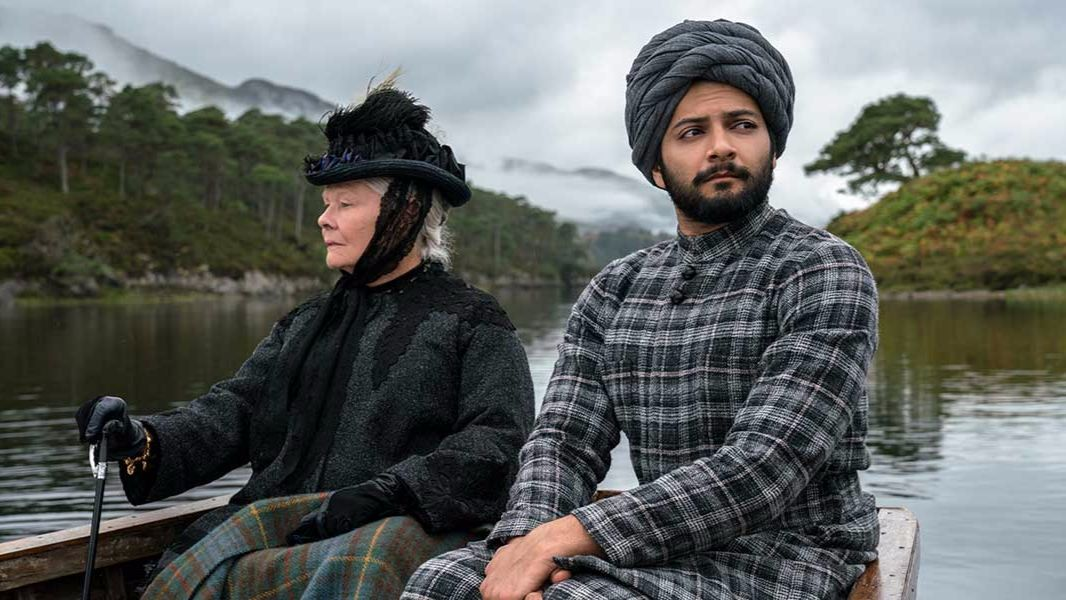 Judi Dench, left, stars as Queen Victoria and Ali Fazal stars as Abdul Karim in director Stephen Frears'