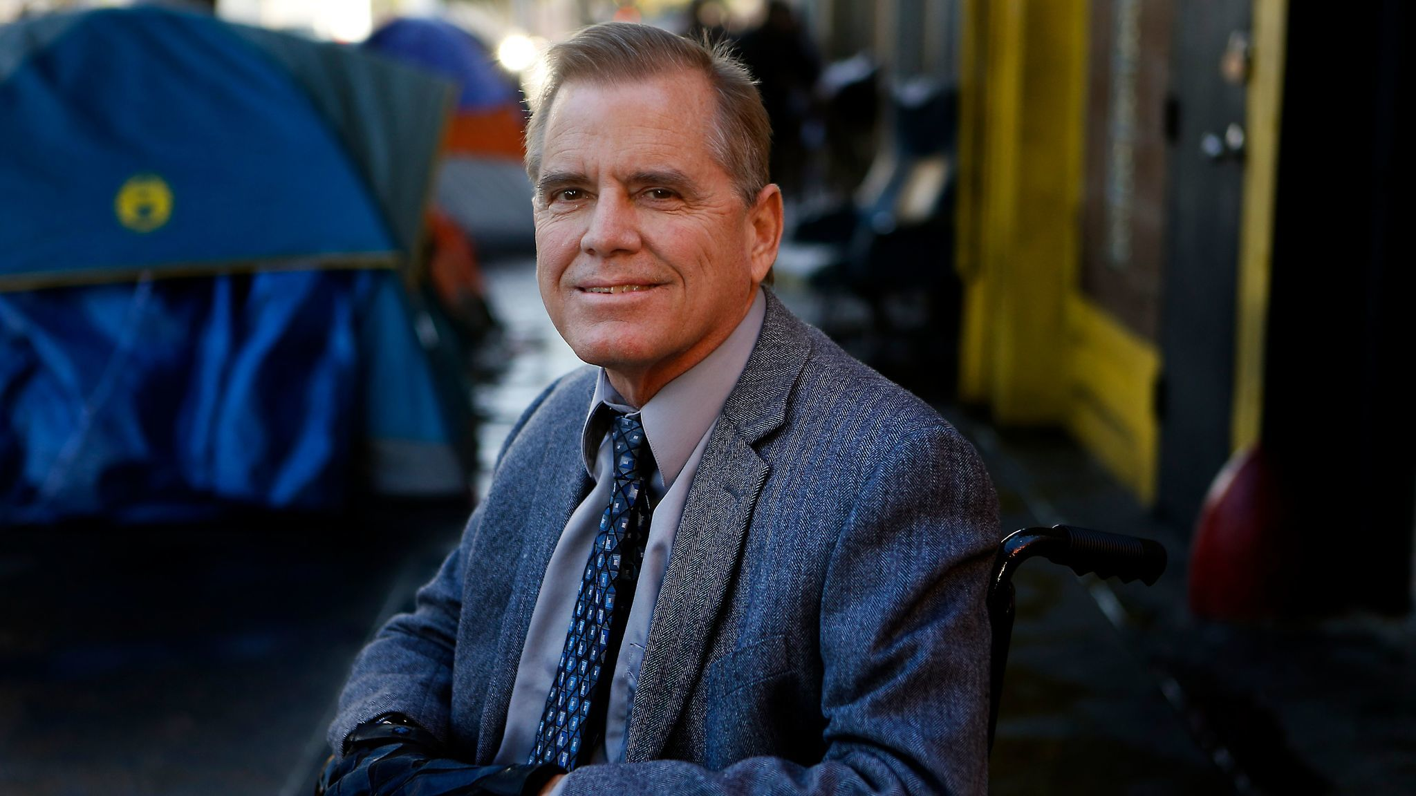 Andy Bales, chief executive of the Union Rescue Mission, says L.A.'s homelessness problem is a