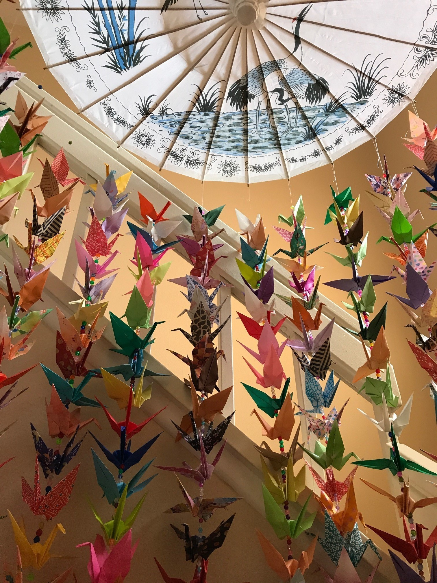 Kathy Liu's Cranes for a Cure will be on display at the New Children's Museum Sept. 6-Oct. 7.