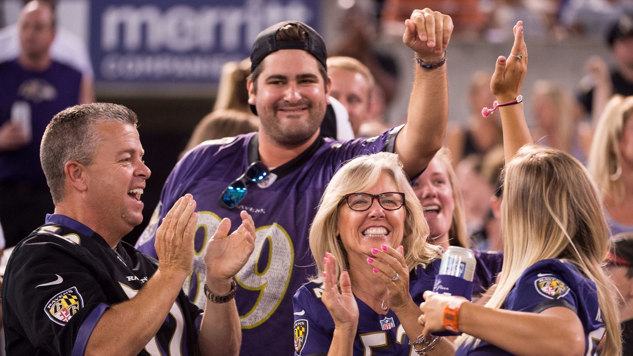 The Ravens Probably Have The Afc S Best Home Field Advantage