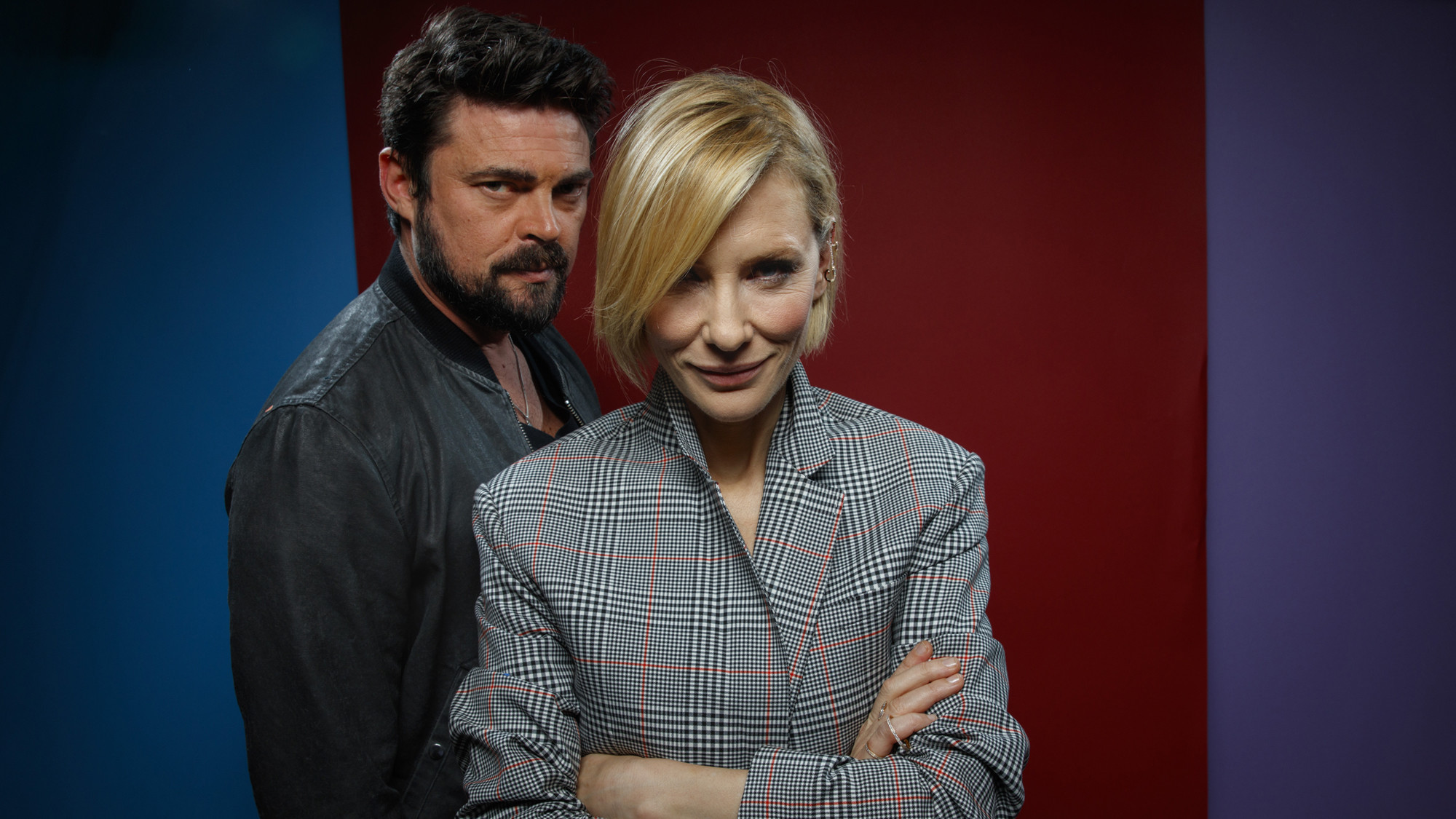 Cate Blanchett and Karl Urban.