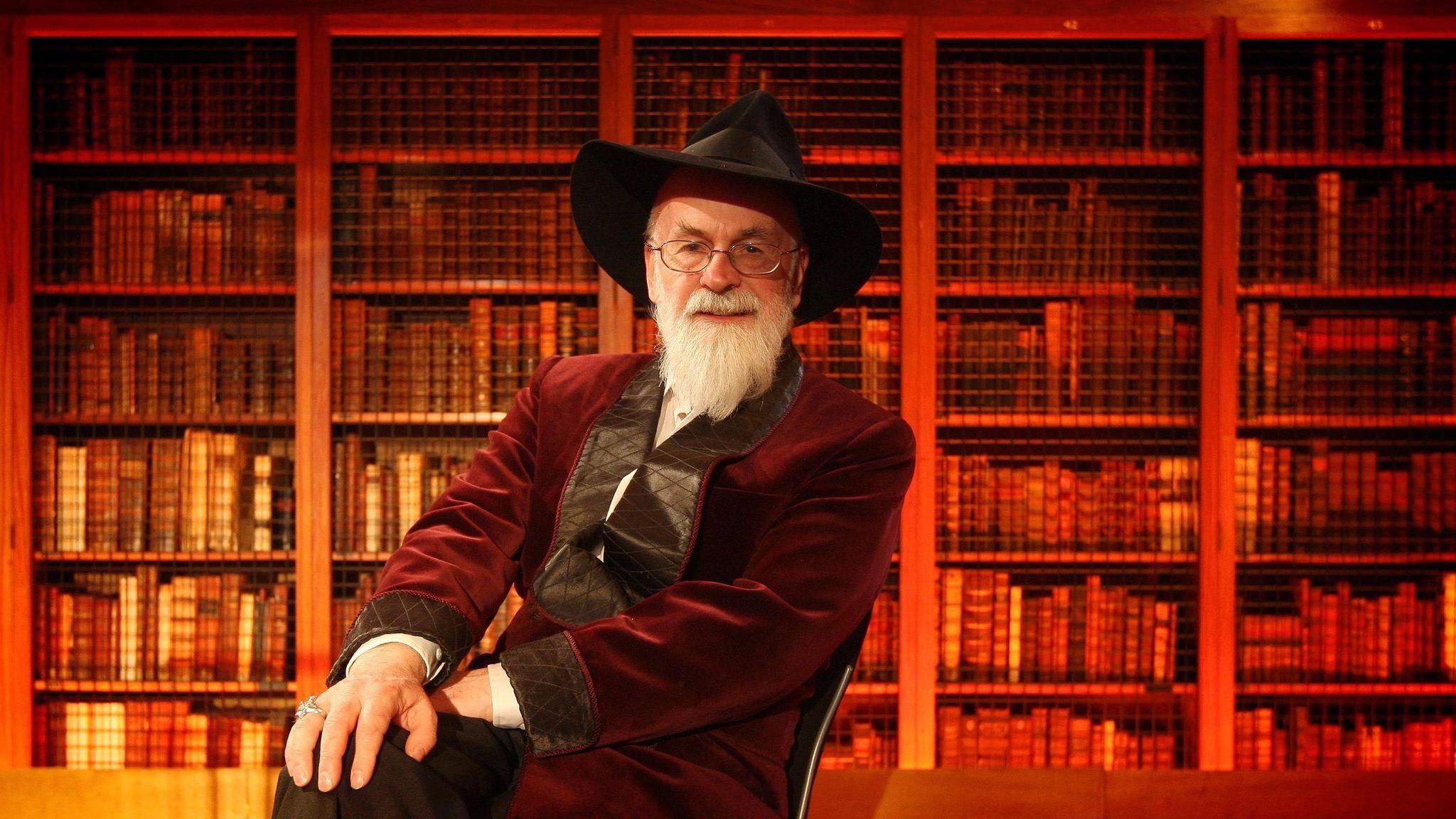 Terry Pratchett in 2010.