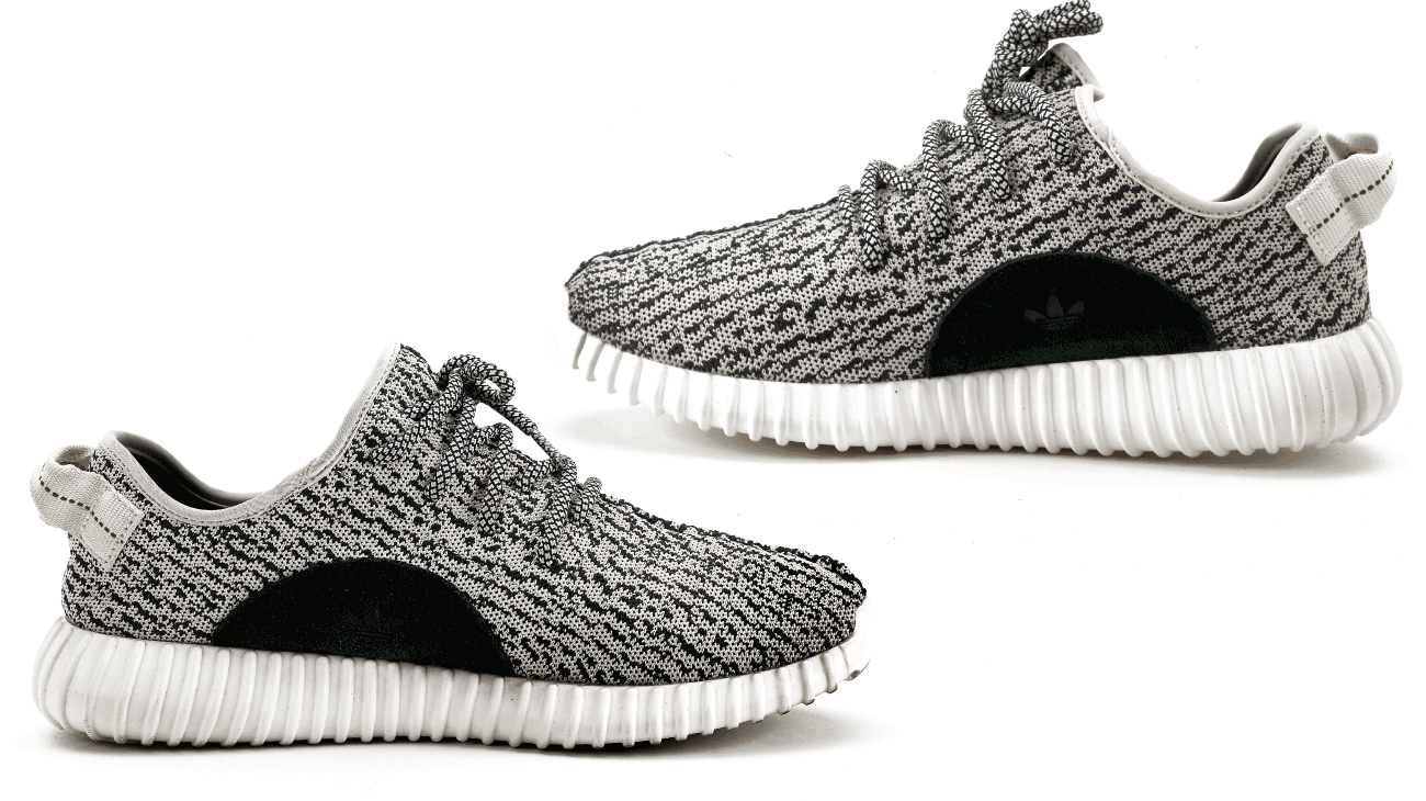 "13b6094a Kevin longed for a pair of Adidas' ""pirate black"" Yeezys, a  charcoal-colored edition of the ultra-hip sneakers designed by rapper Kanye  West."